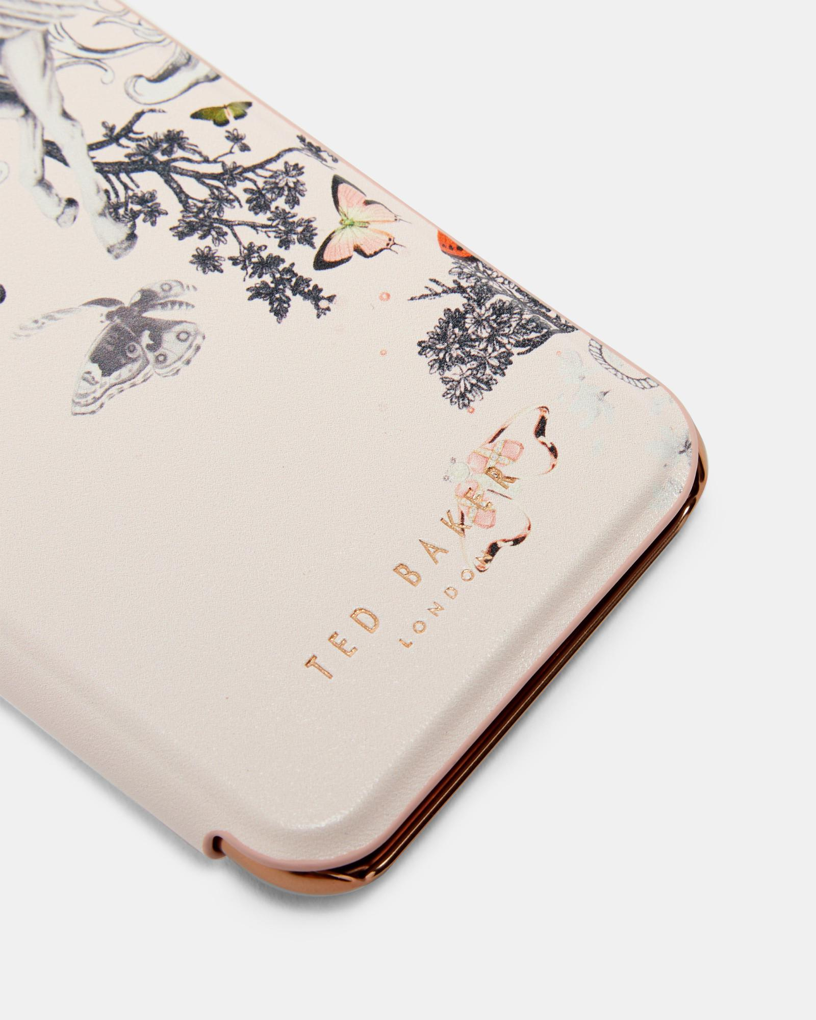 the best attitude ddeca b73a5 Ted Baker Pink Enchanted Dream Iphone 6/6s/7 Book Case