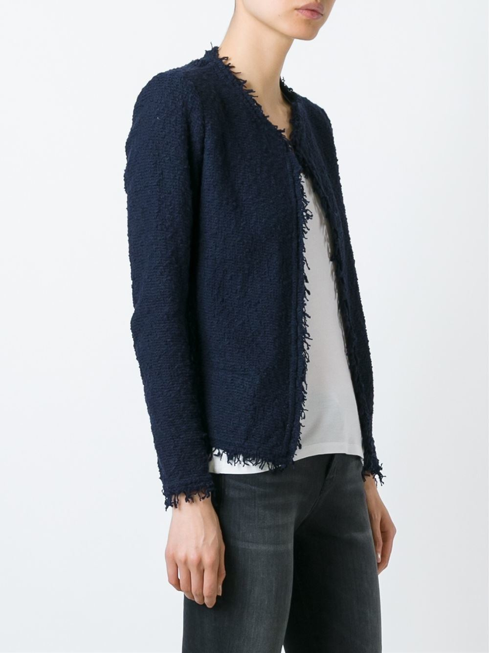 Lyst Iro Shavani Jacket In Blue