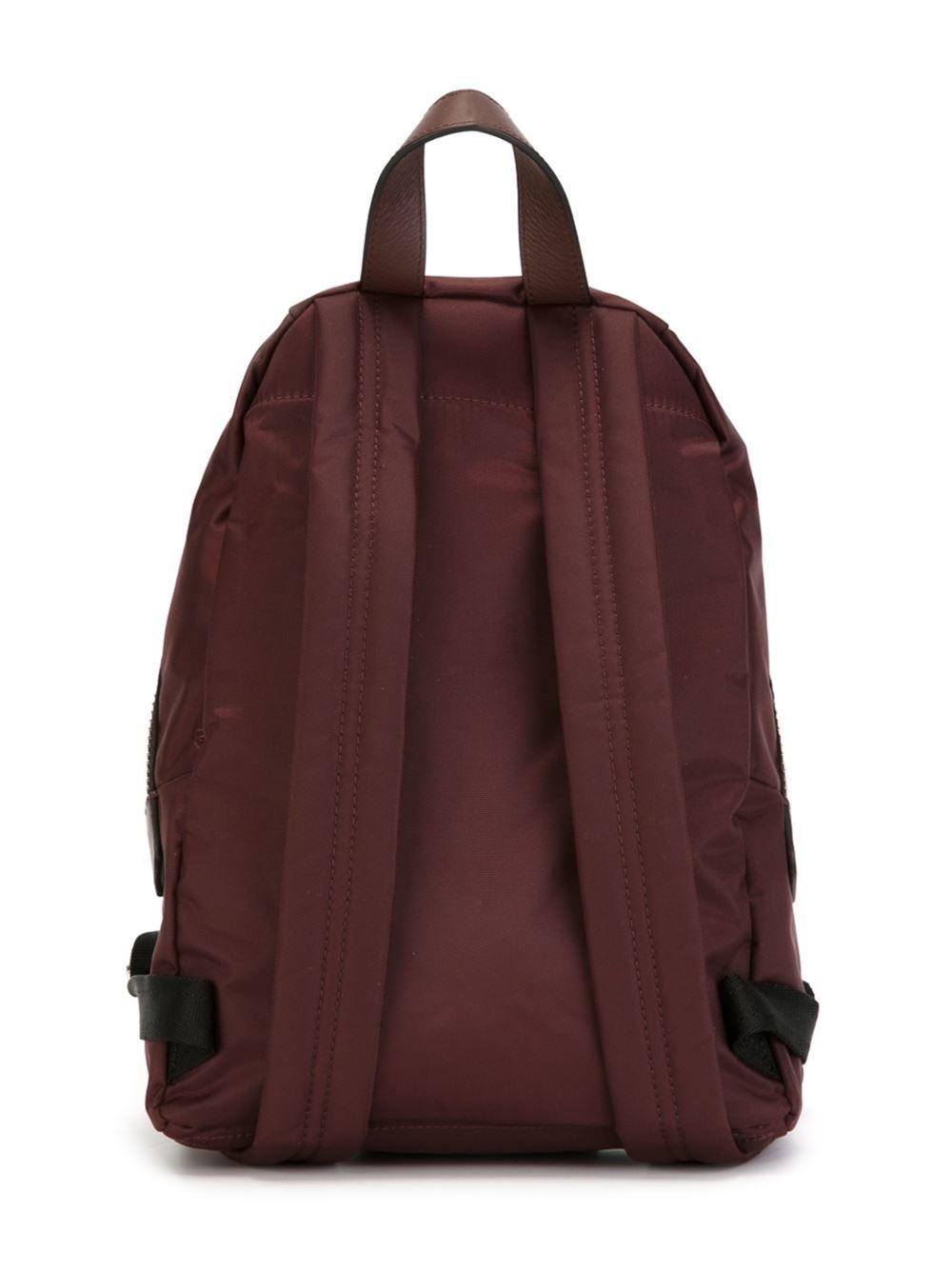 Marc Jacobs Biker Mini Backpack In Brown For Men Lyst