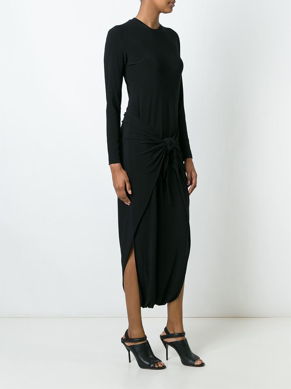 Norma kamali sleeveless dress lyst - Norma kamali costumi da bagno ...
