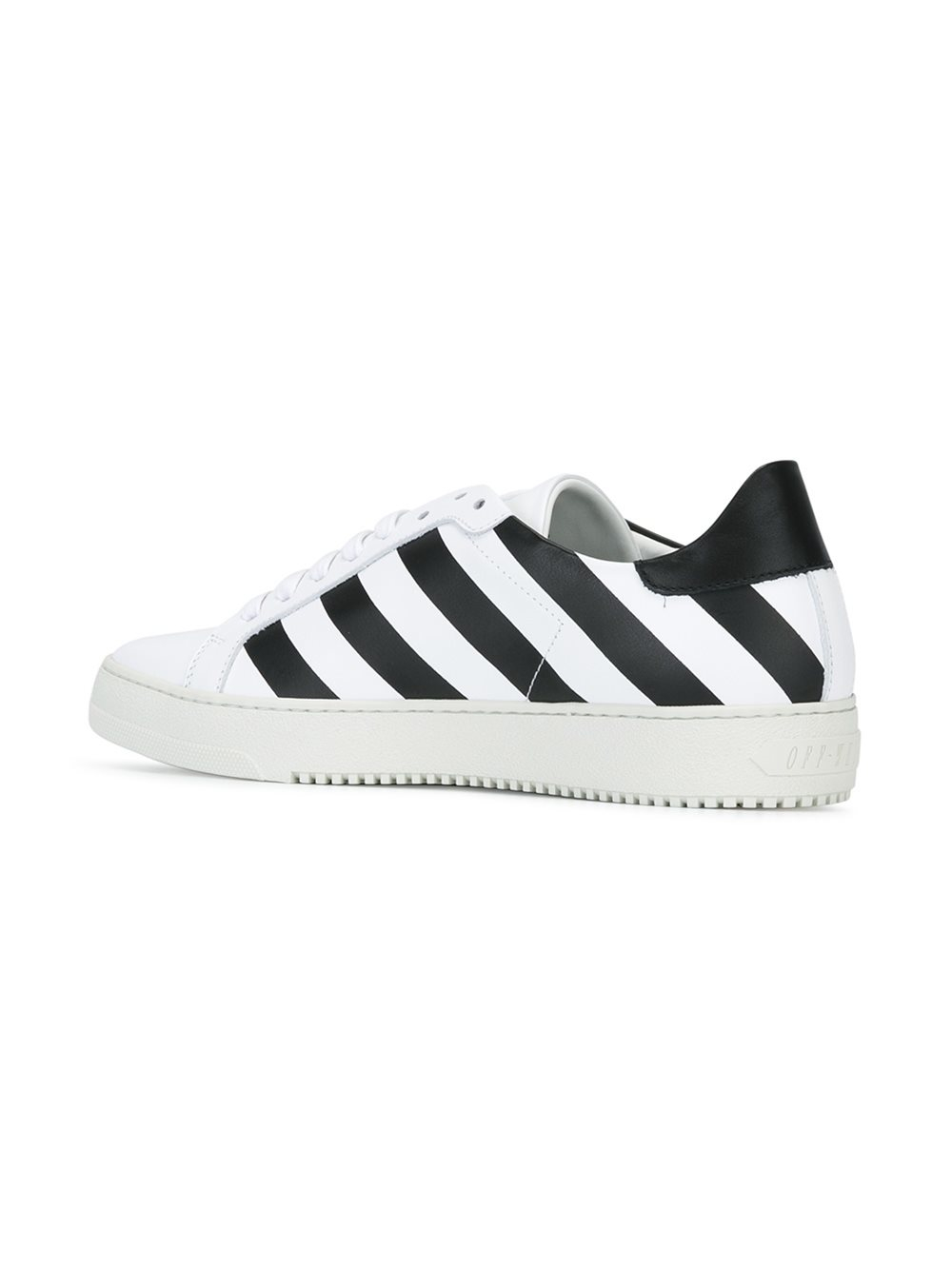 Off-White c/o Virgil Abloh Leather Classic Diagonals Sneakers