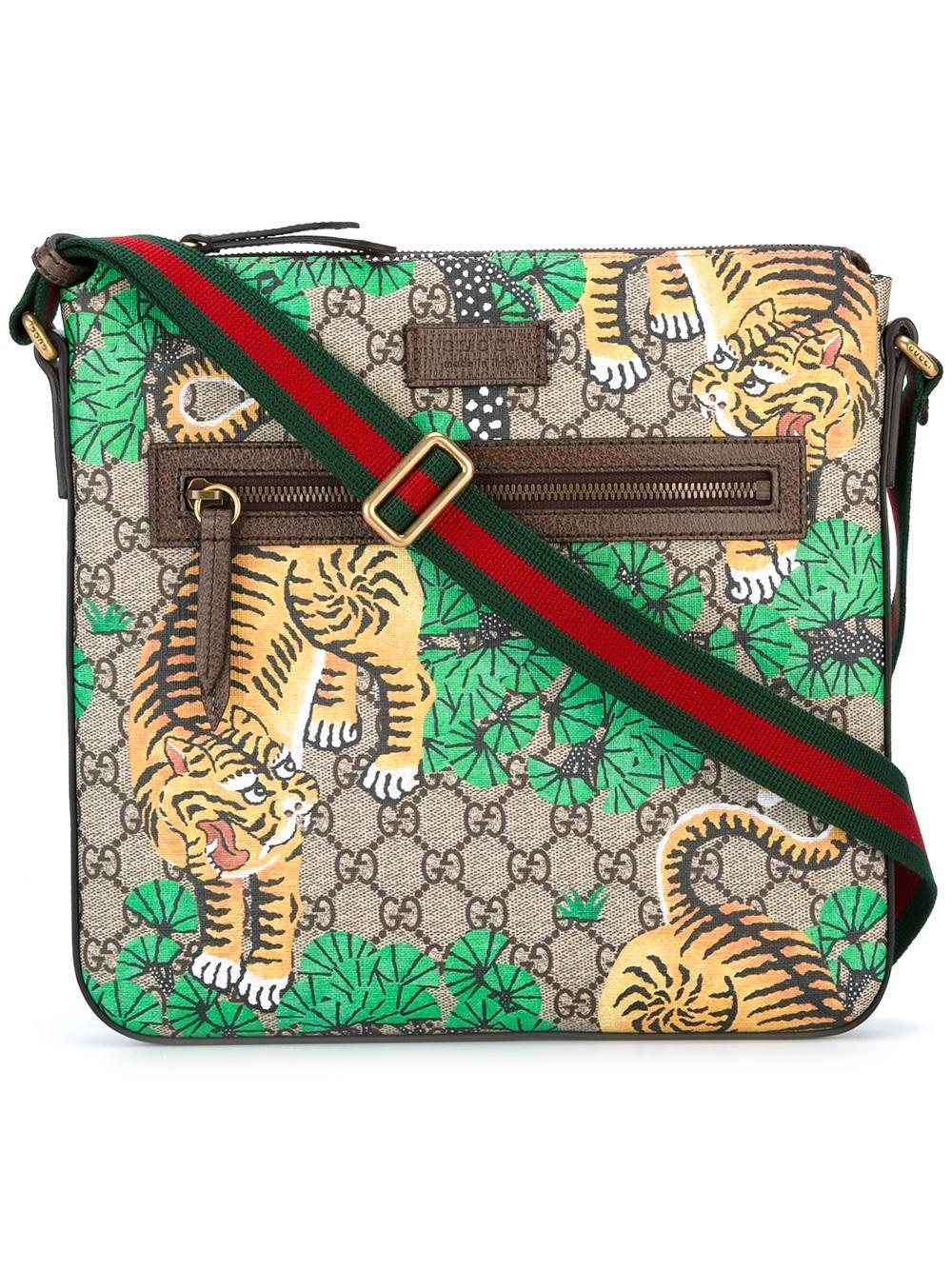 d43eacb51cc Gucci Gg Supreme Messenger Bag for Men - Lyst