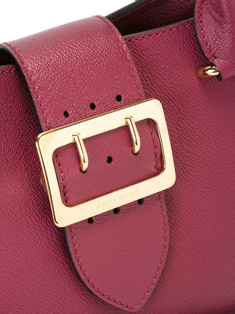Burberry Leather Small Buckle Handbag