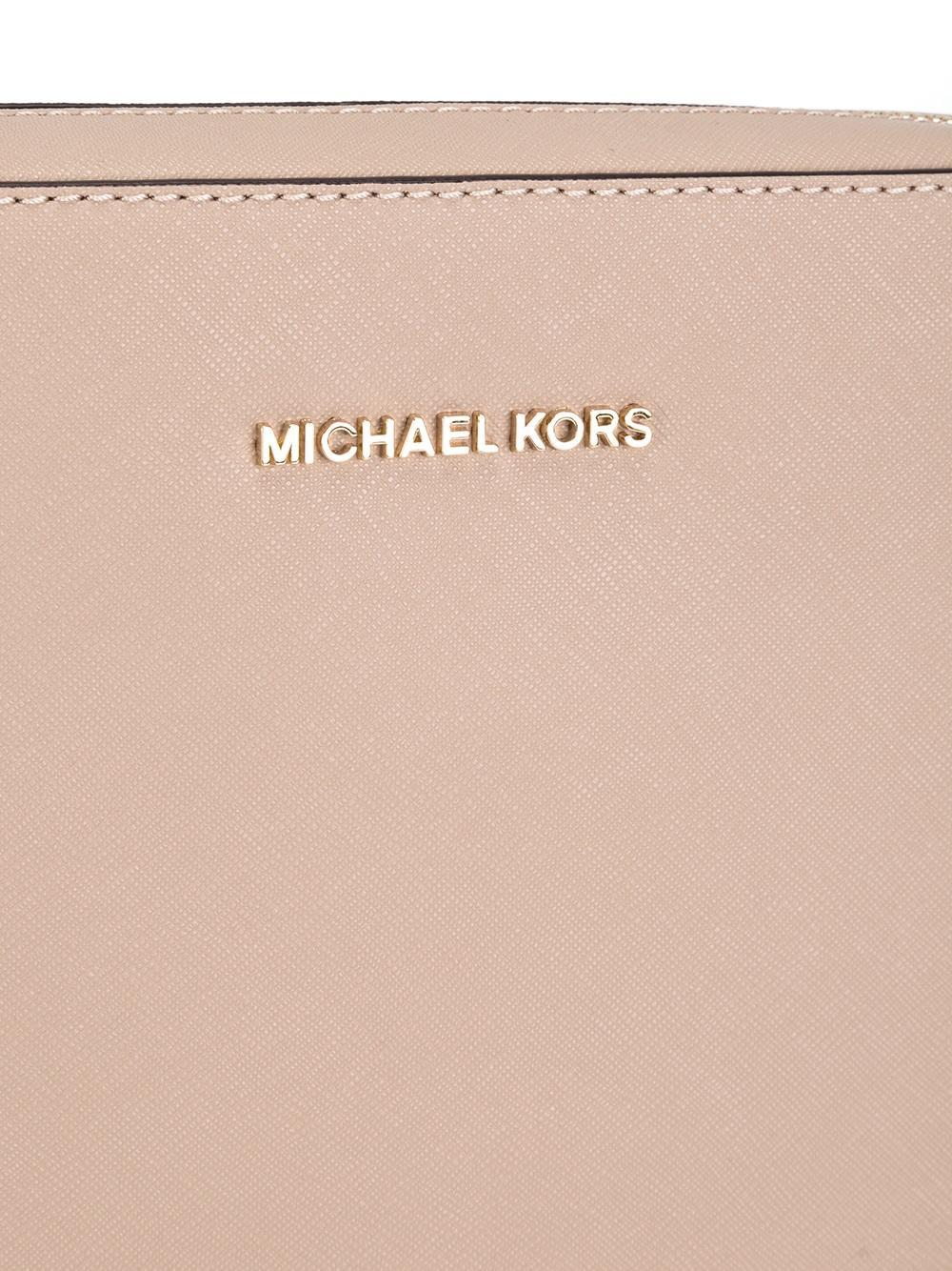 "MICHAEL Michael Kors Leather Crossbody ""jet Set Travel"" Pochette"