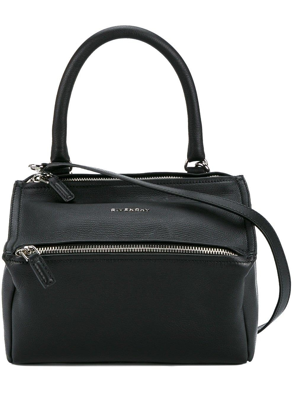Lyst - Givenchy Pandora Small Leather Shoulder Bag in Black d8263333aa
