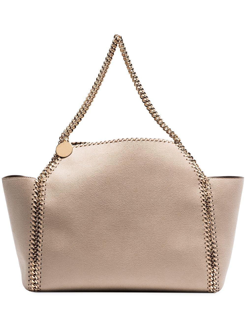 baf9da56fe50 Lyst - Stella McCartney Tote Bag in Natural - Save 2.163225172074732%