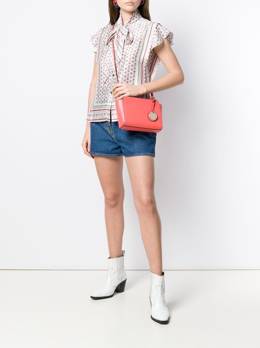 c8bb32ed9 Lyst - Emporio Armani Small Crossbody Bag in Pink - Save 8%
