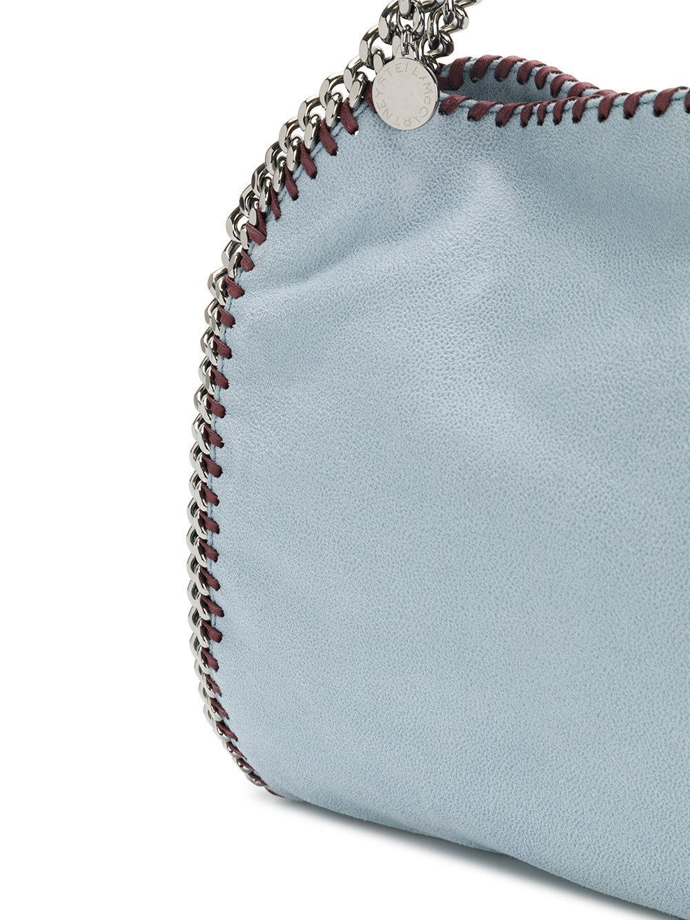 Stella McCartney Falabella Mini Tote Bag in Blue