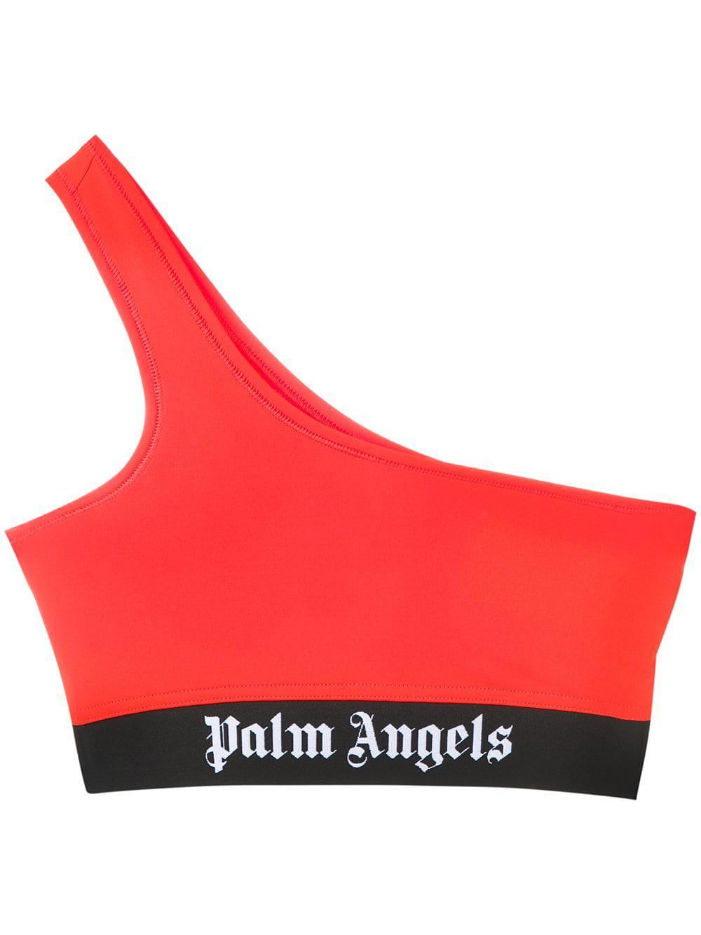 f9468f5cbdf671 Palm Angels - Orange Single Shoulder Bra - Lyst. View fullscreen