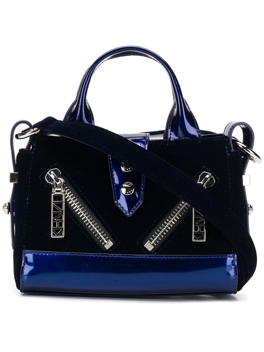 062ba7f4 Lyst - KENZO Micro Kalifornia Handbag in Blue - Save 13%
