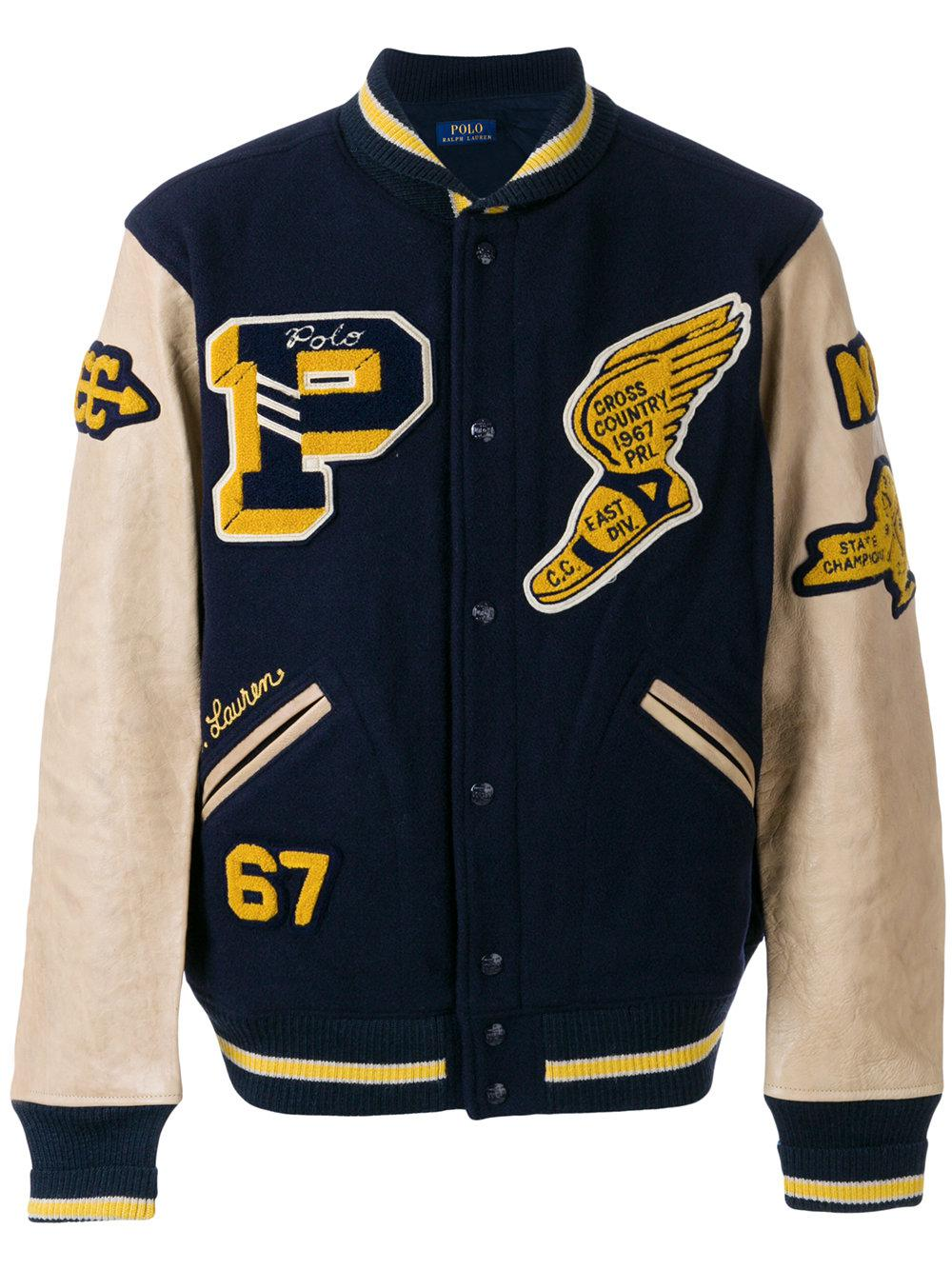 Polo Ralph Lauren Cotton Classic Varsity Bomber Jacket in