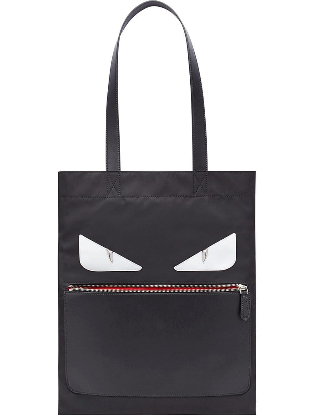 5d93095ccf Lyst - Fendi Slim Tote Nylon in Black for Men - Save 40.0%