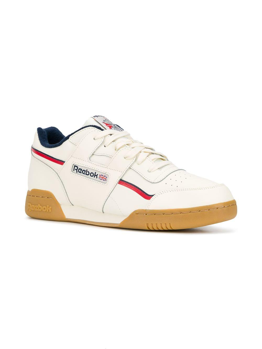 6bcd253399d83f Reebok - White Plus Mu Sneakers for Men - Lyst. View fullscreen