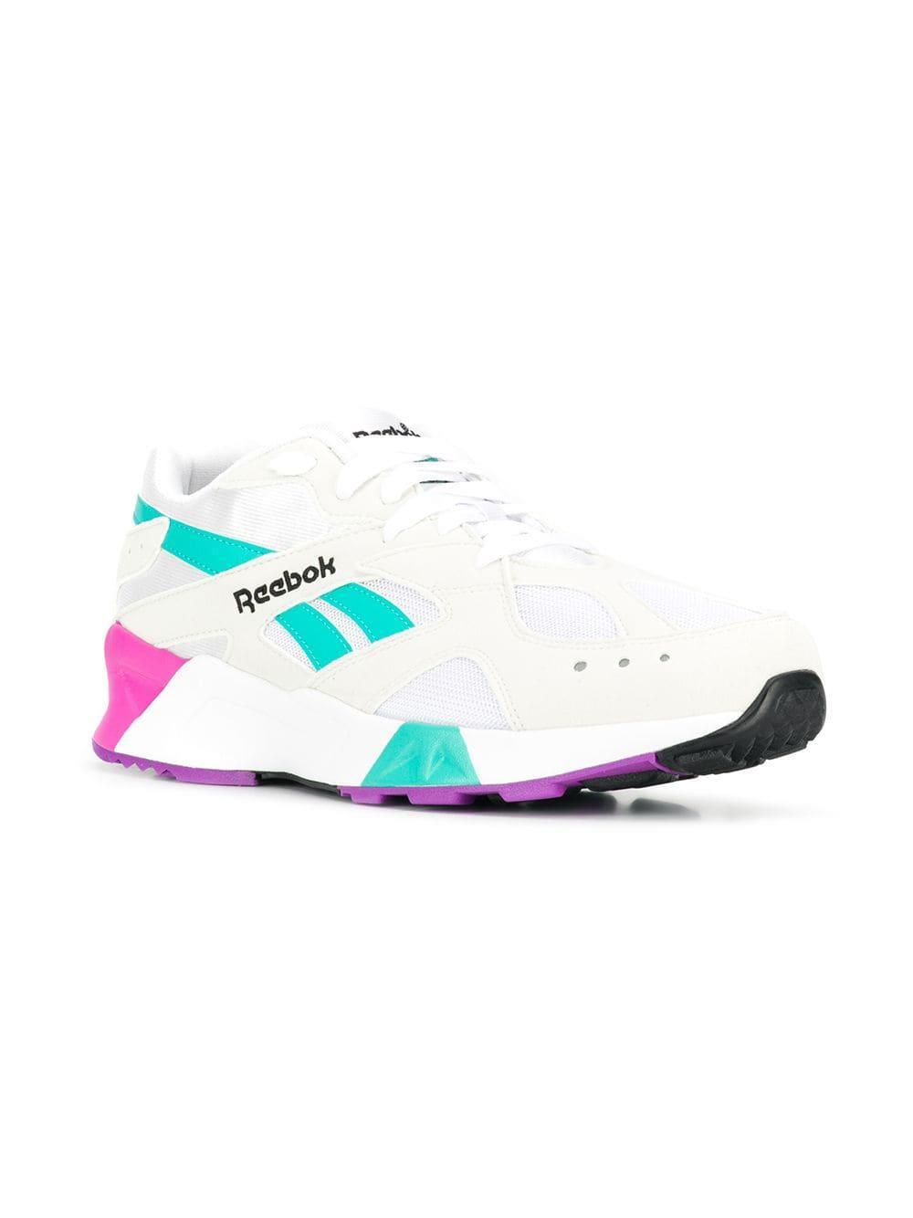 237ddf6903d Reebok - Blue Aztrek Sneakers for Men - Lyst. View fullscreen
