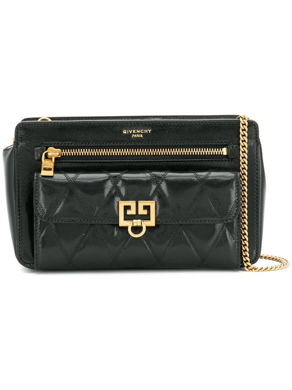 a32183631b7 Womens Black Pocket Leather Crossbody Bag release date  0e39d 27e43  Givenchy  Horizon Nano ...