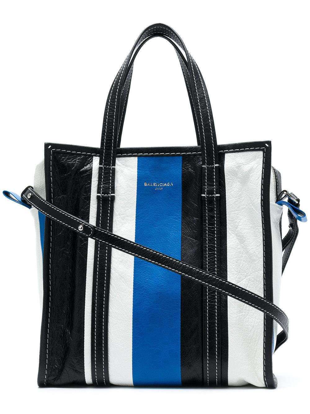 0007b5f58 Balenciaga Bazar Shopper Small Bag in Blue - Lyst