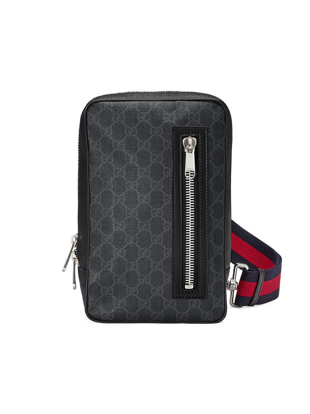 73e5dec74dc Lyst - Gucci Gg Supreme Bag in Black