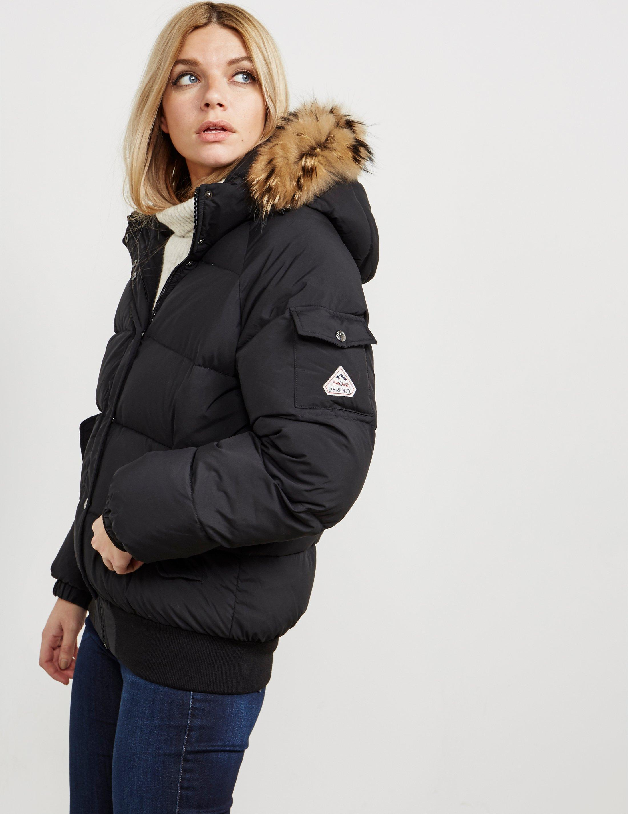 d62c25452 Women's Aviator Padded Jacket Black