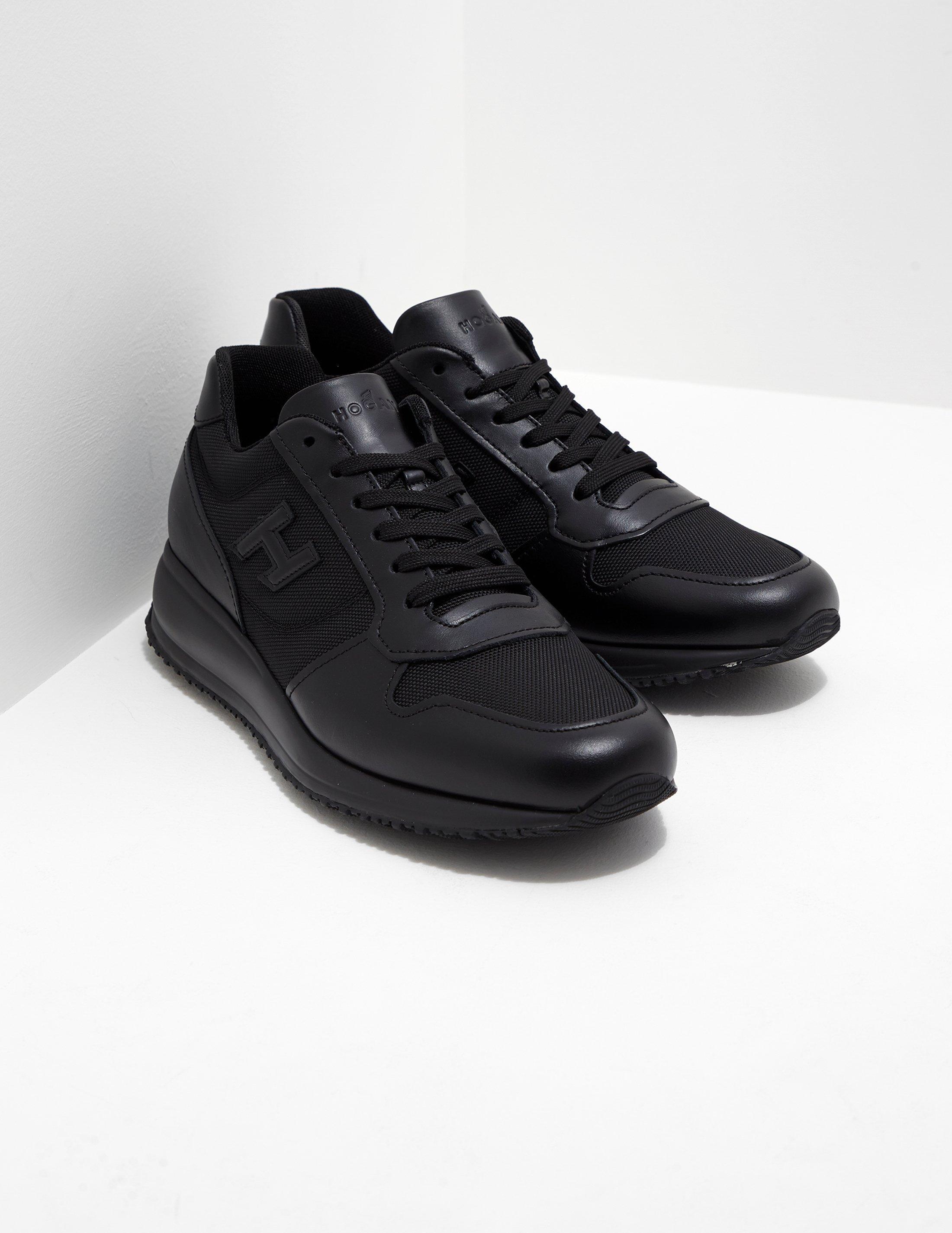 Hogan Leather Mens N20 Black for Men - Lyst