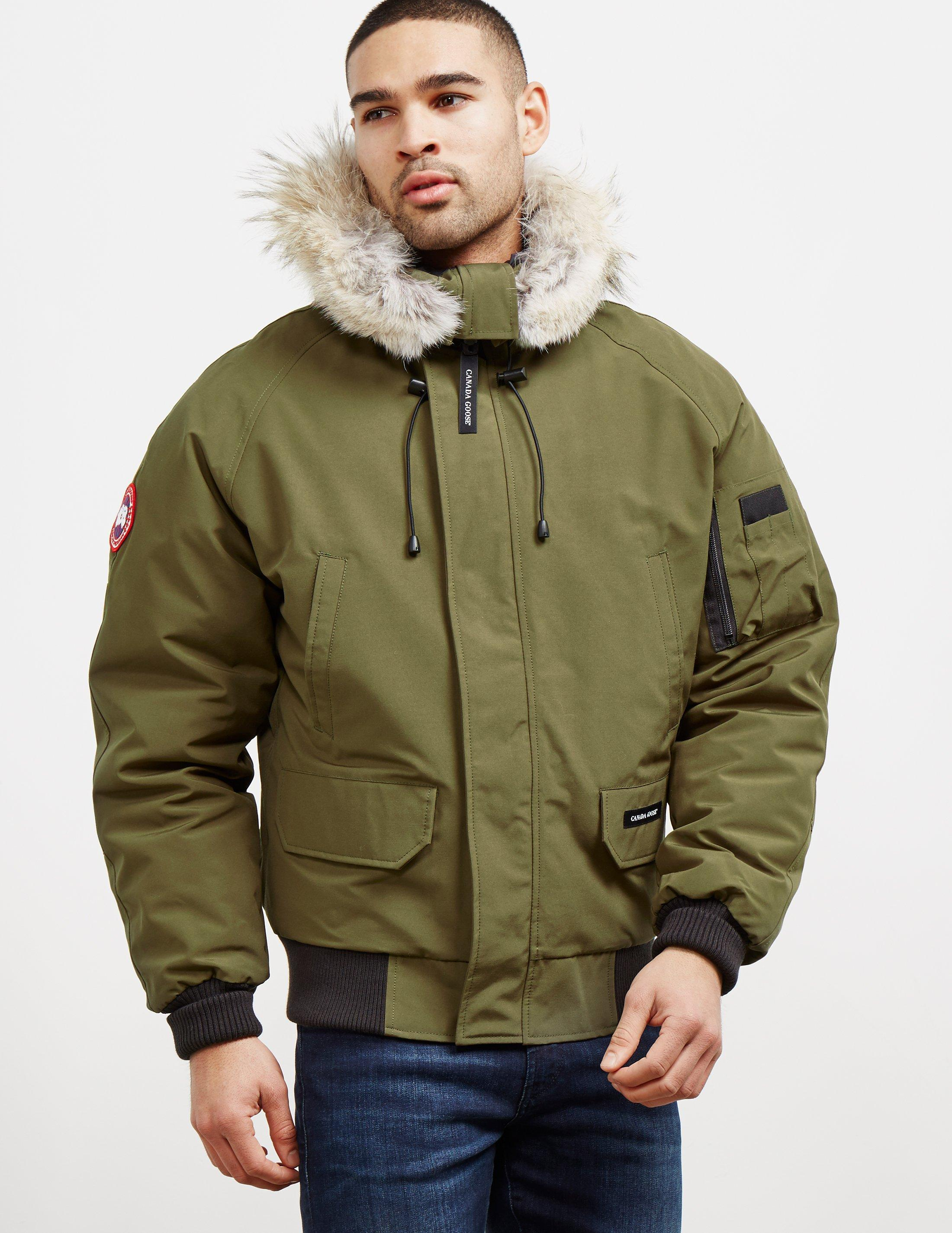 Canada Goose - Mens Chilliwack Padded Bomber Jacket Green for Men - Lyst. View fullscreen