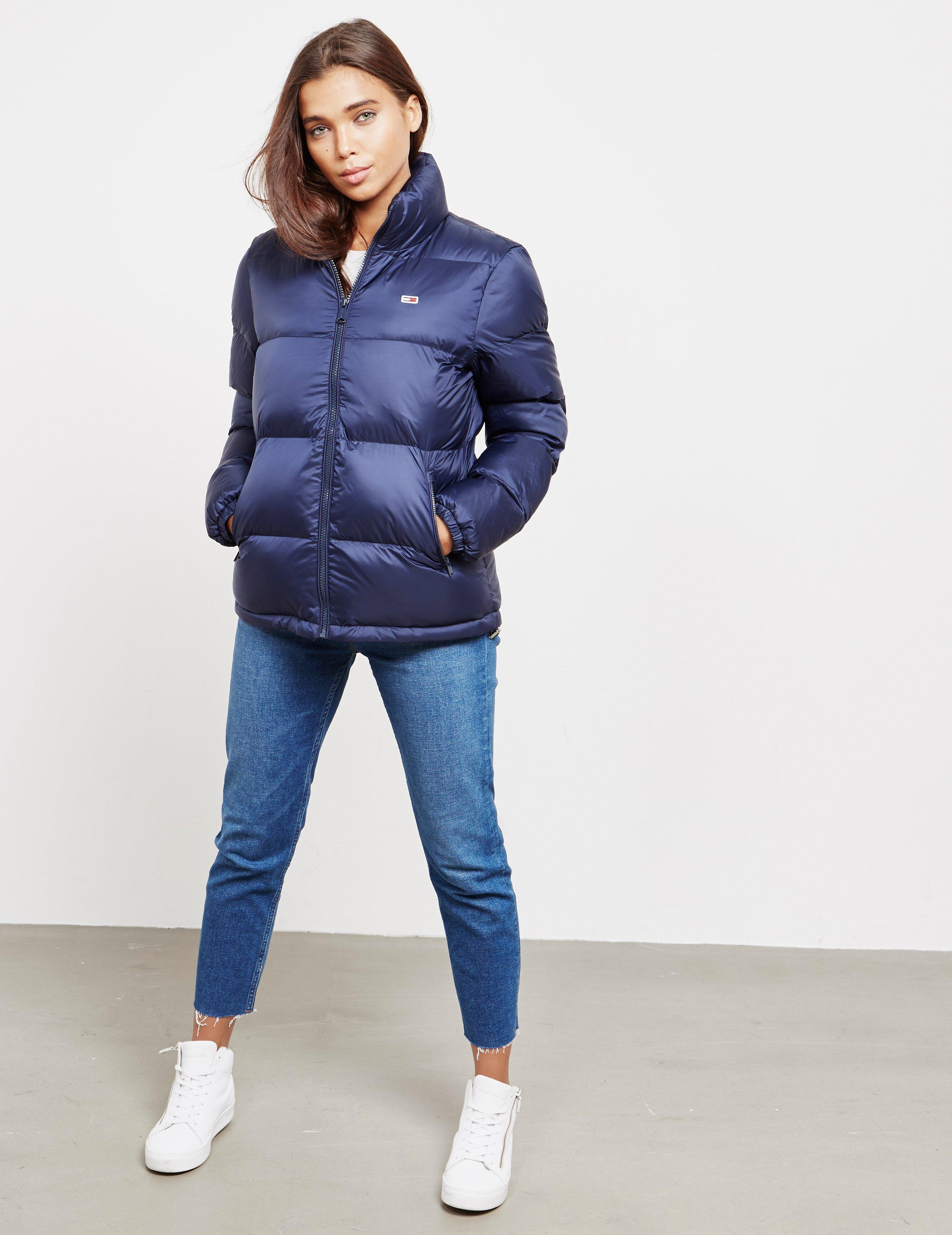 4bc30b33 Lyst - Tommy Hilfiger Womens Padded Jacket Navy Blue in Blue