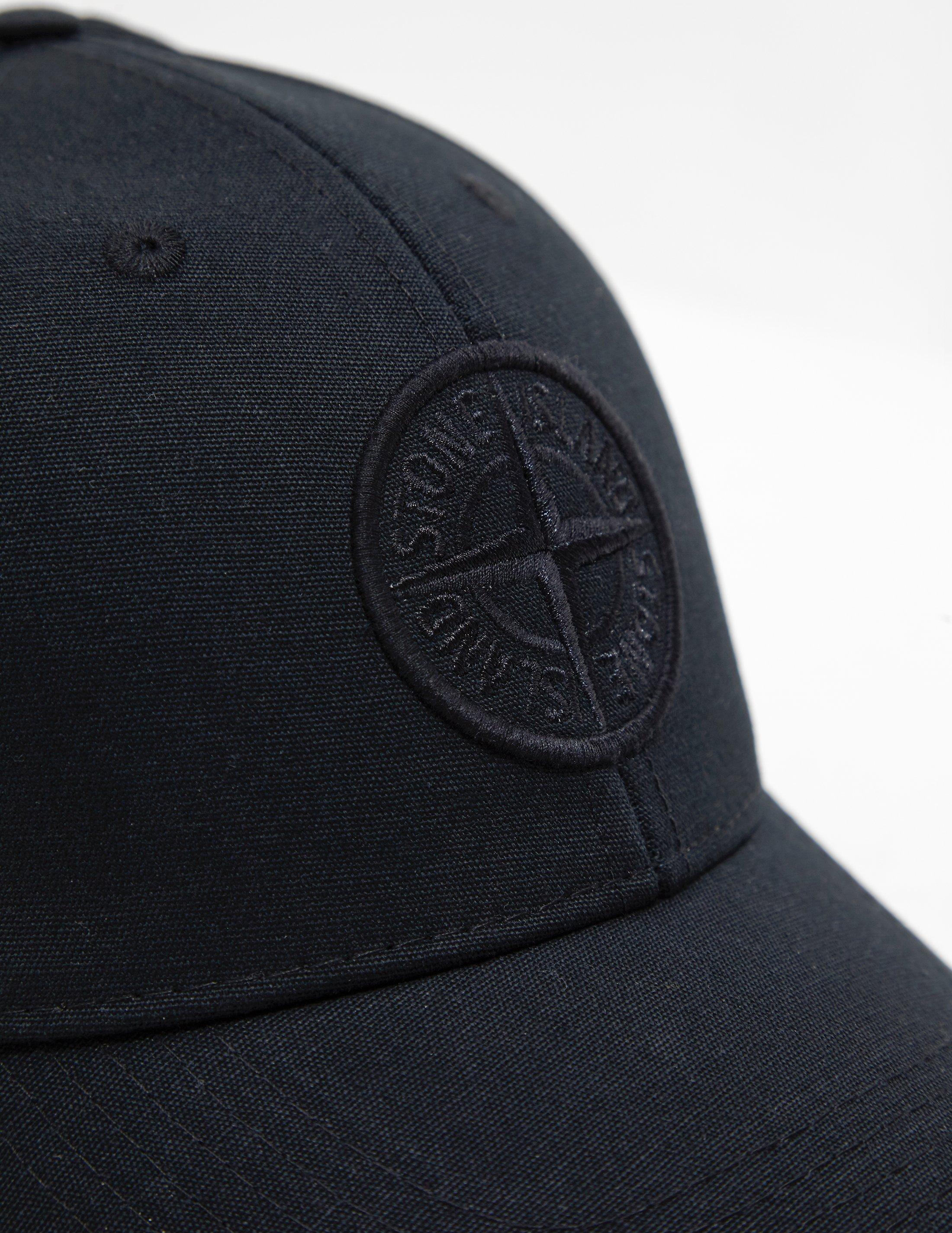 0b3881a62ba Lyst - Stone Island Mens Pin Cap Black in Black for Men - Save  5.6910569105691025%