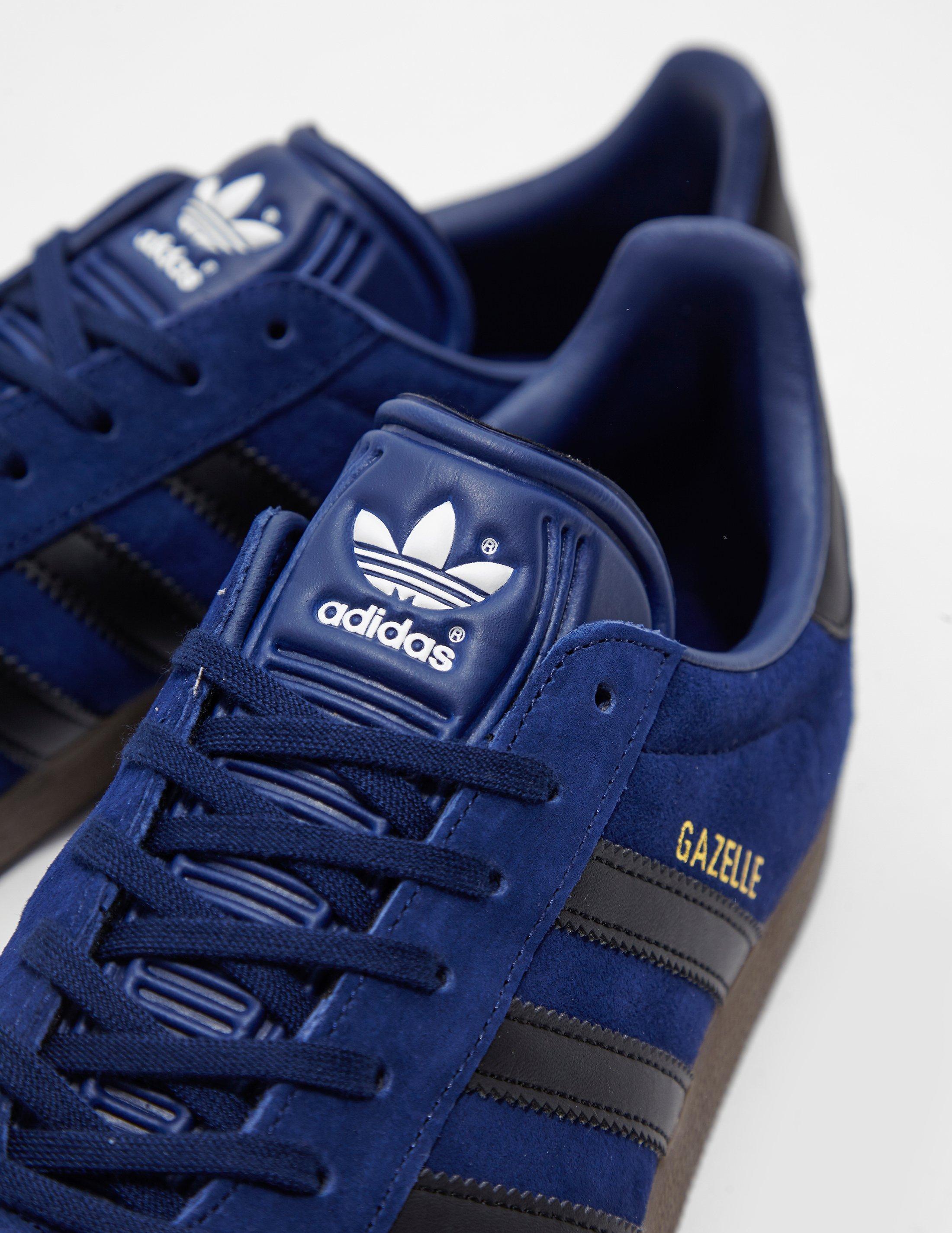 quality design d98b0 989cd Lyst - adidas Originals Mens Gazelle Blue in Blue for Men