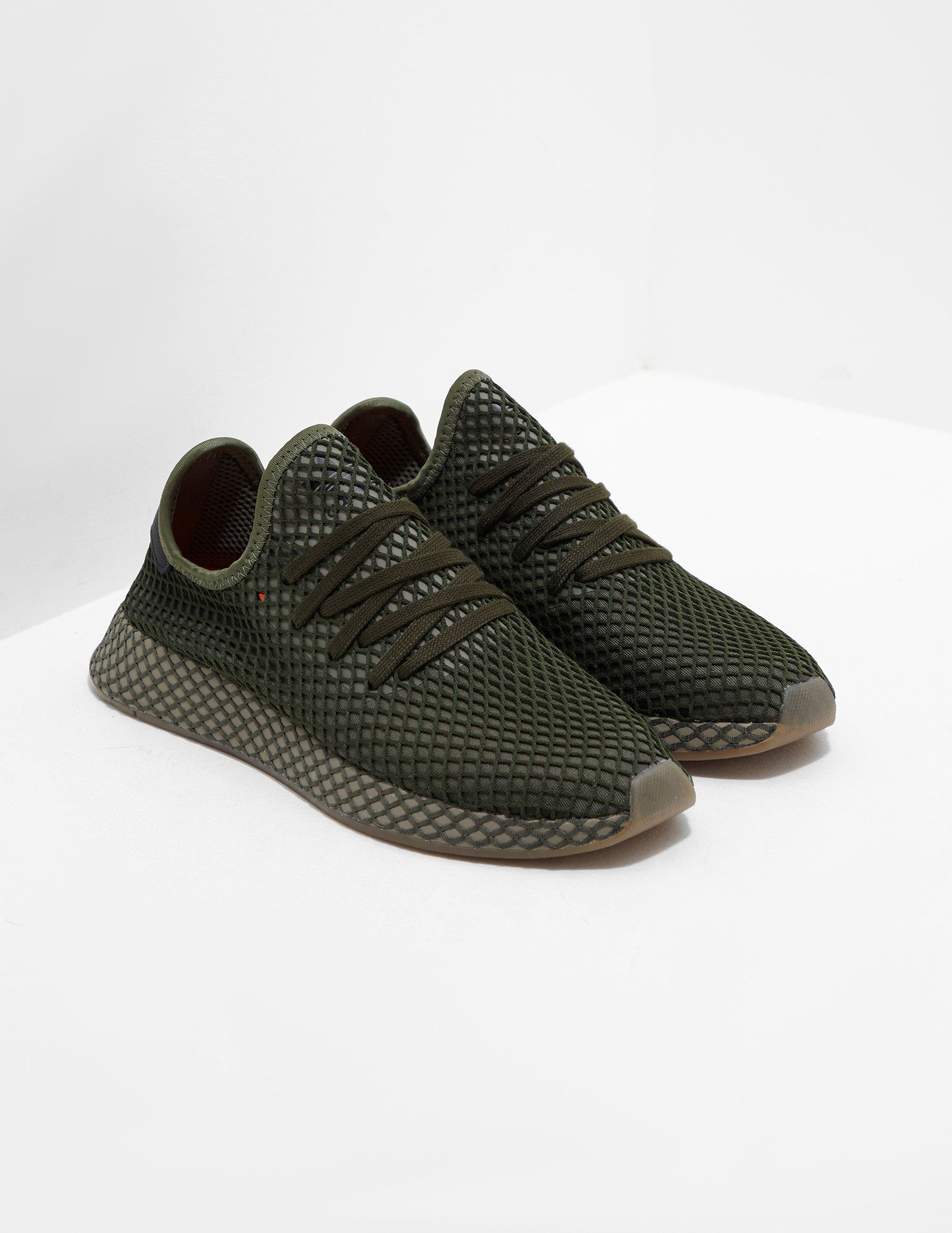 the latest 52bae abae8 adidas Originals Mens Deerupt Green in Green for Men - Lyst