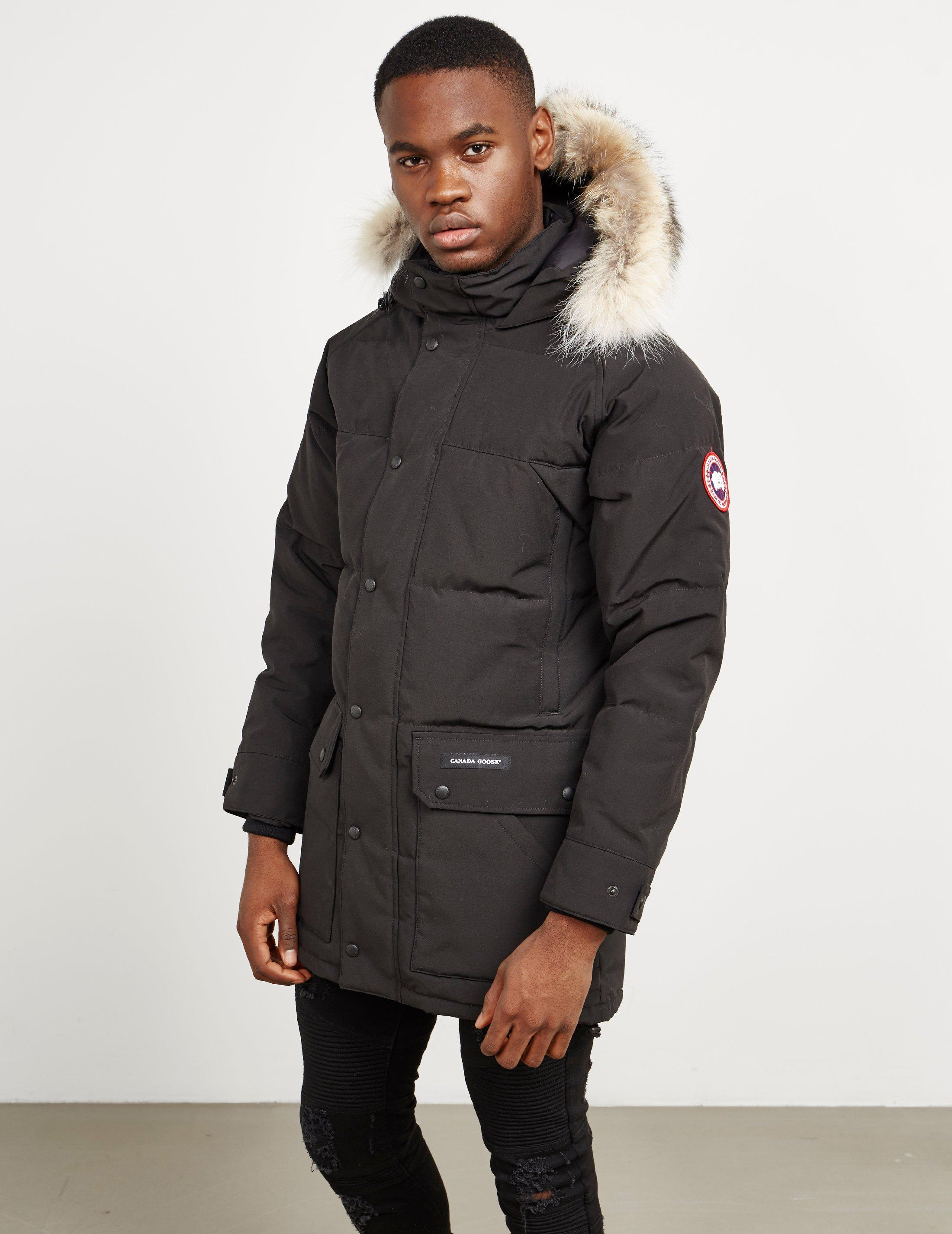 6798e2a355998 Canada Goose Mens Emory Padded Jacket Black in Black for Men - Lyst