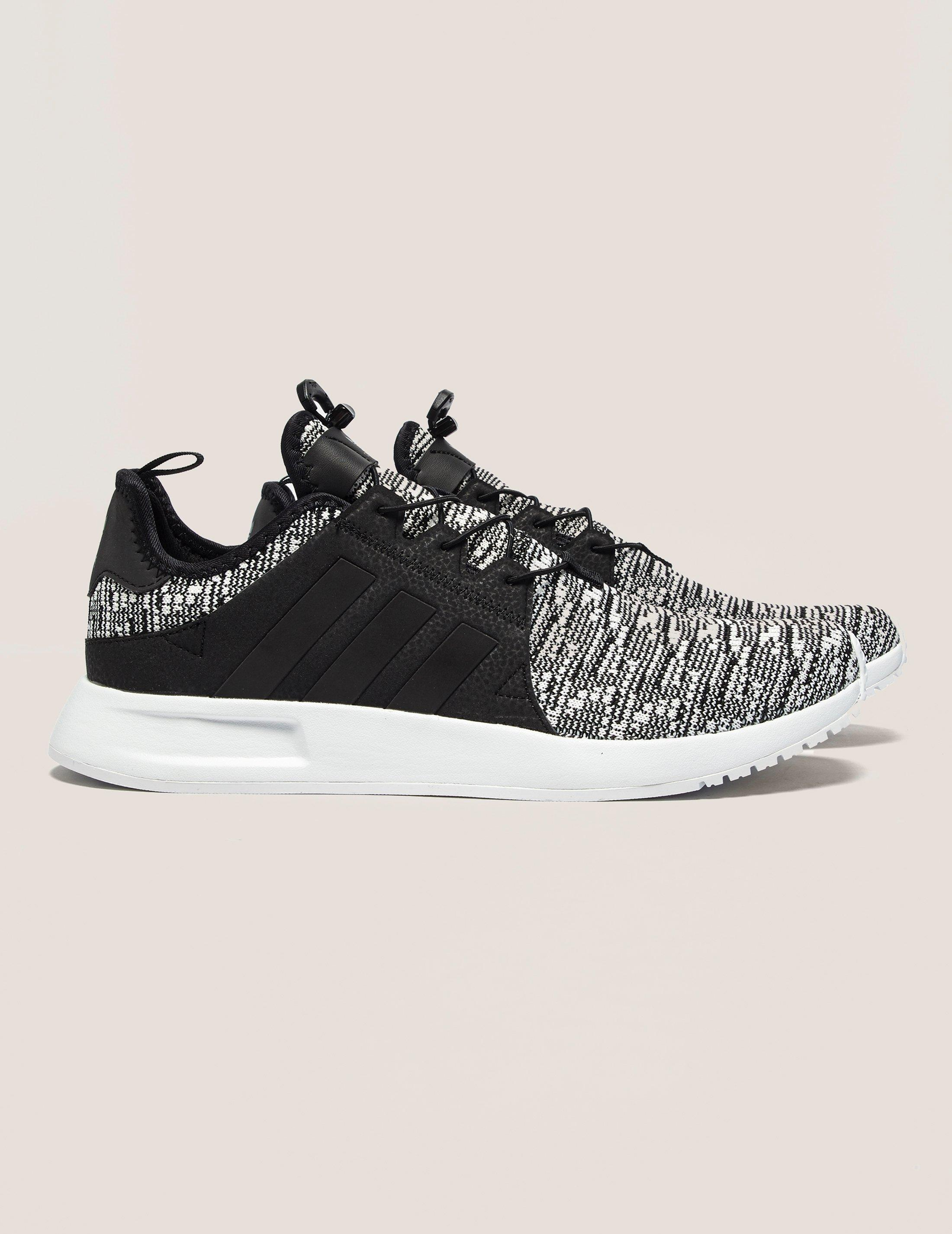 adidas Originals Leather Xplr Rk in BlackWhite (Black) for