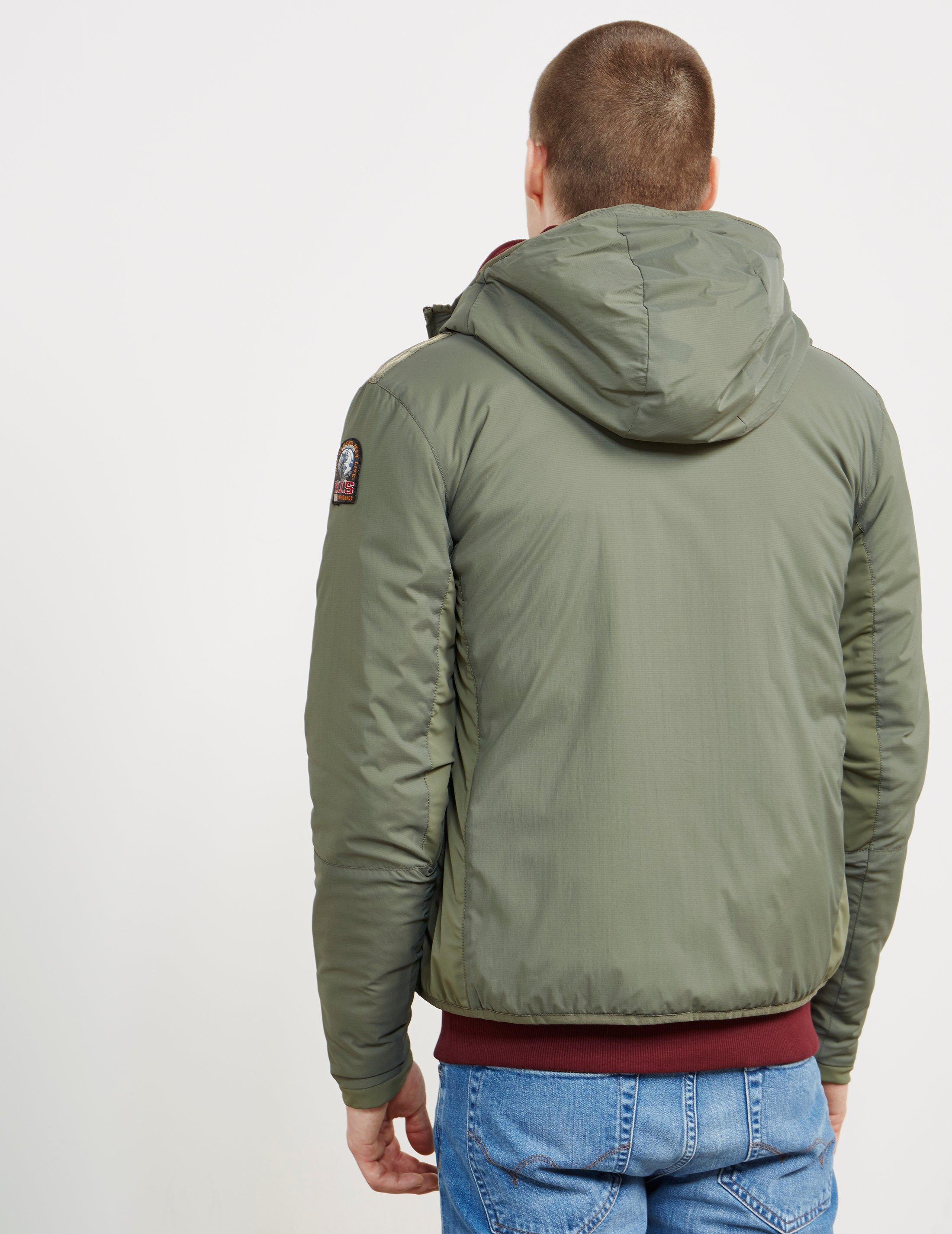 parajumpers skimaster jacket in military green