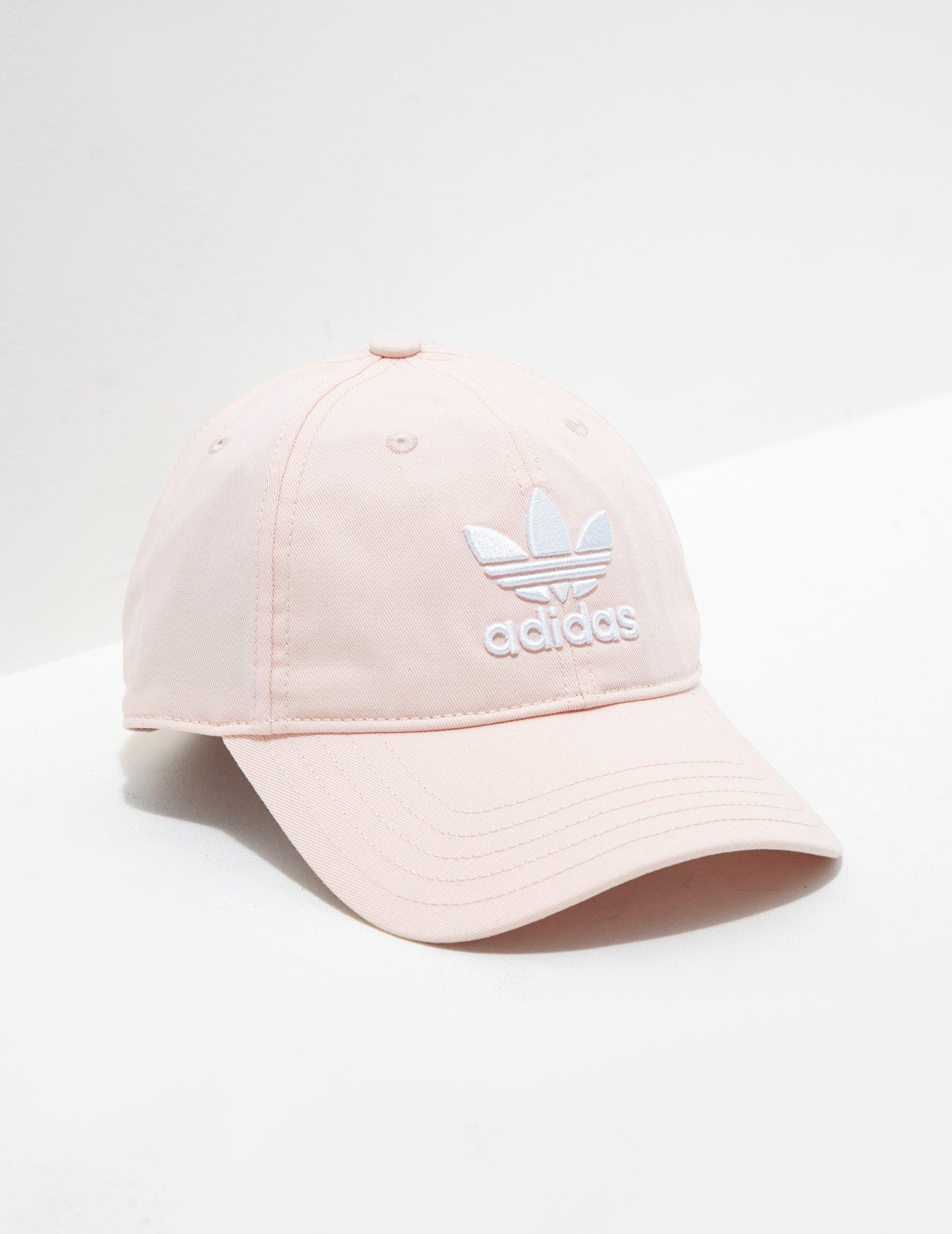 reasonably priced online store good looking Mens Trefoil Classic Cap Pink