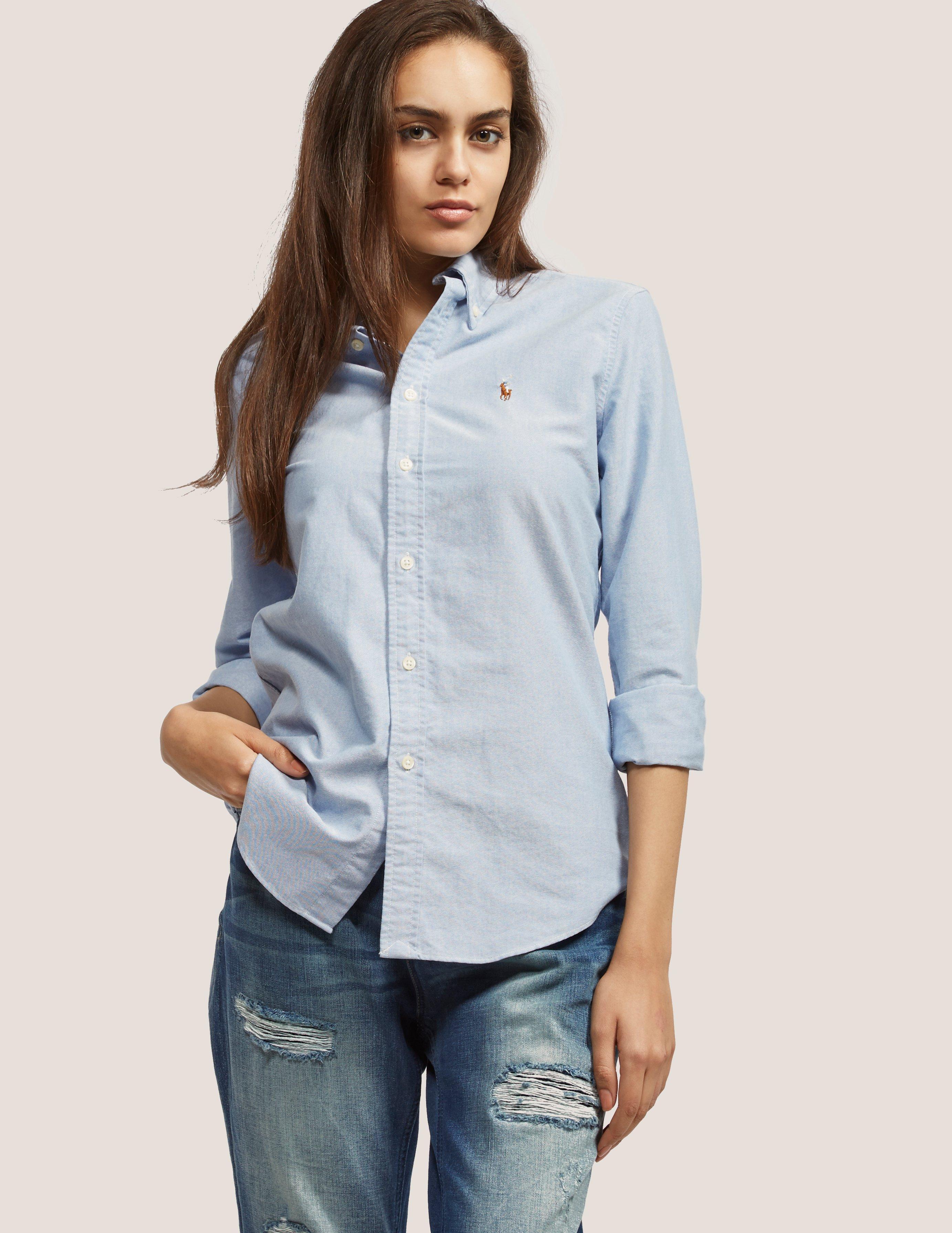 Lyst - Polo Ralph Lauren Harper Shirt in Blue 66bbe28d77c2