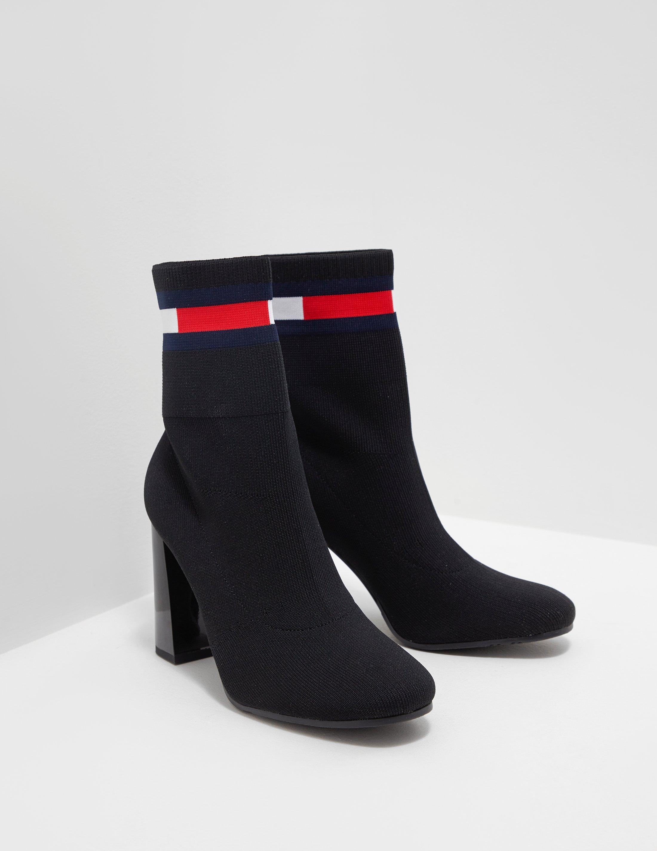 Tommy Hilfiger Denim Womens Sock Heeled