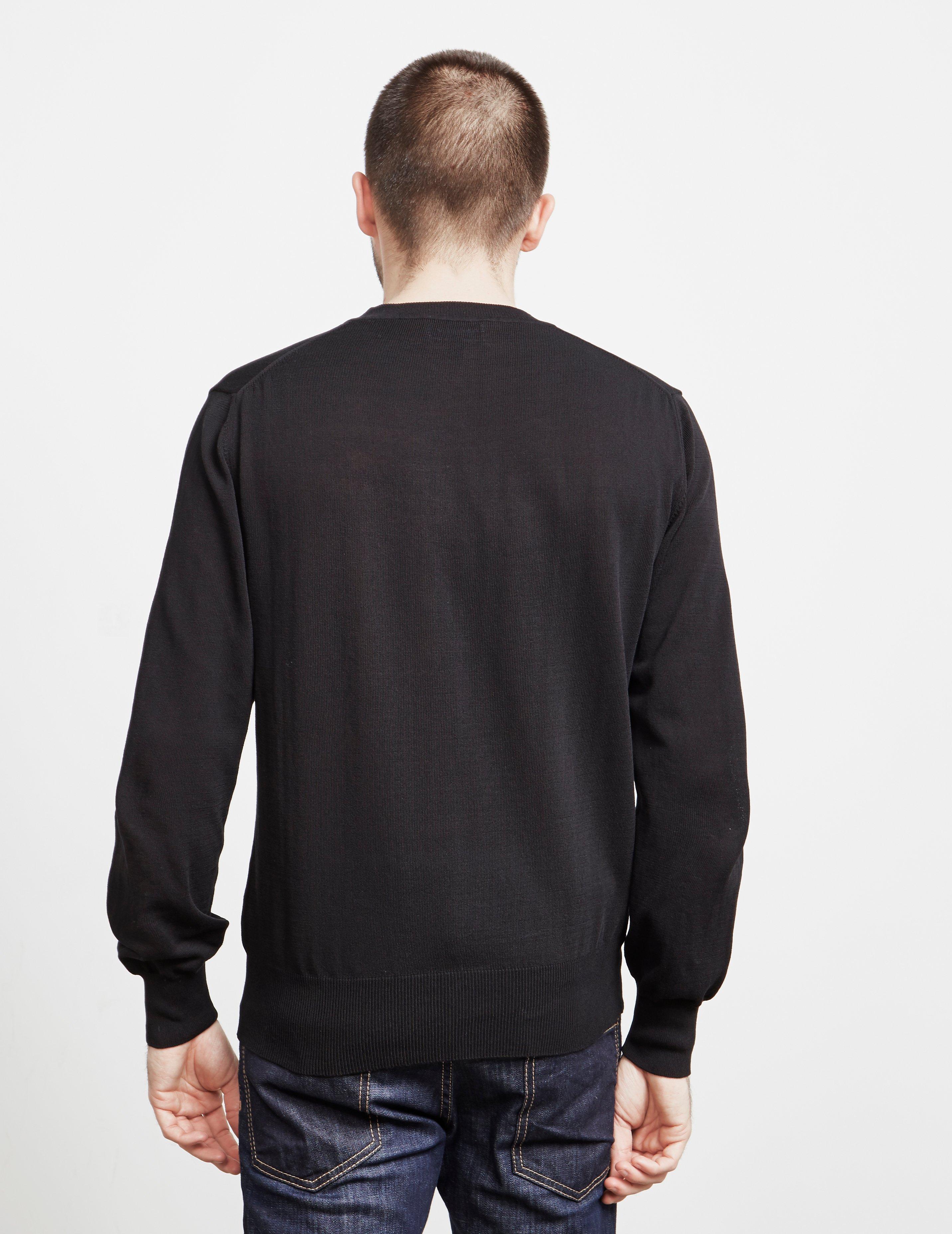 6093940934f86 Vivienne Westwood - Mens Orb Knit Jumper Black for Men - Lyst. View  fullscreen