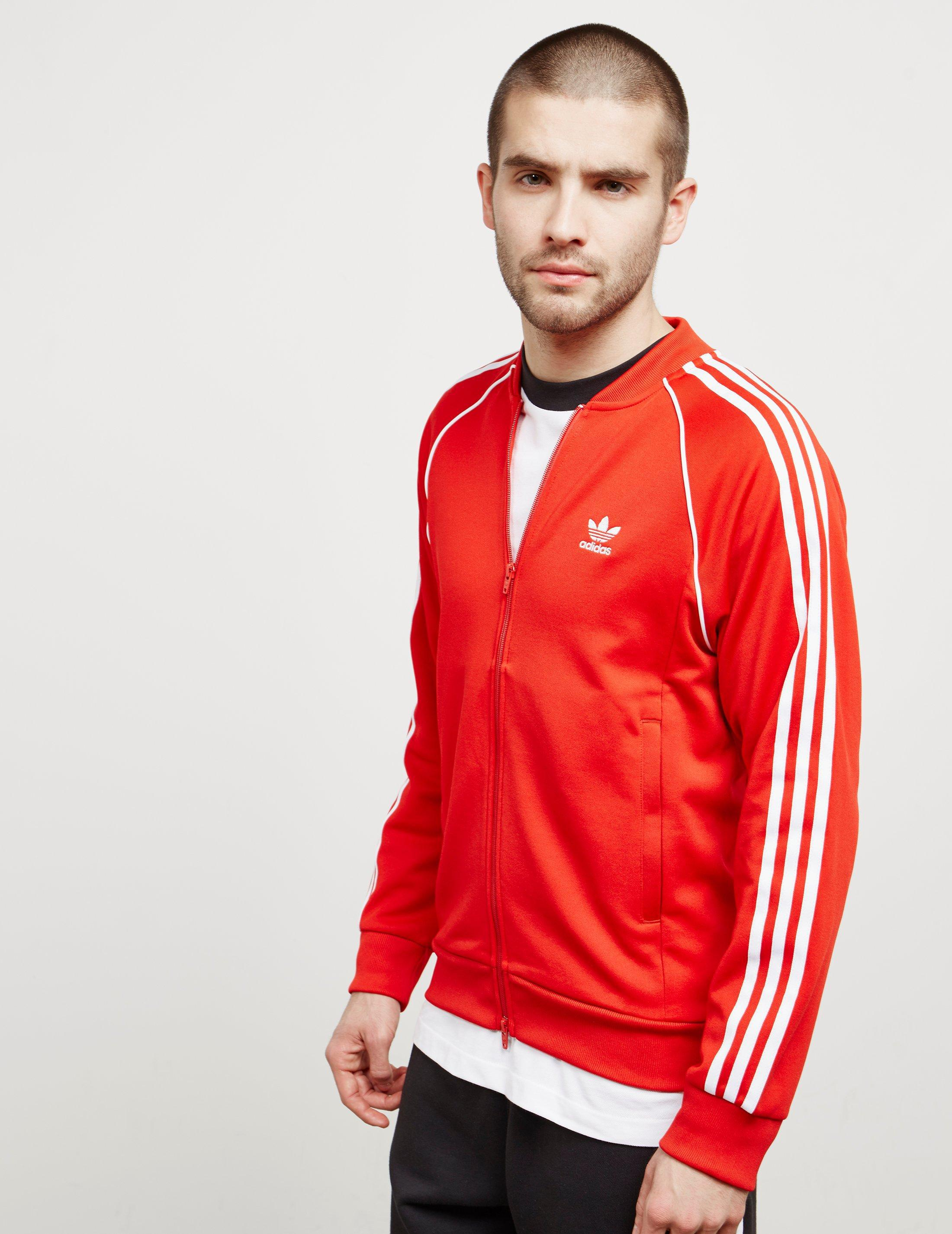 Adidas Originals Superstar Men's SST Track Jacket Red