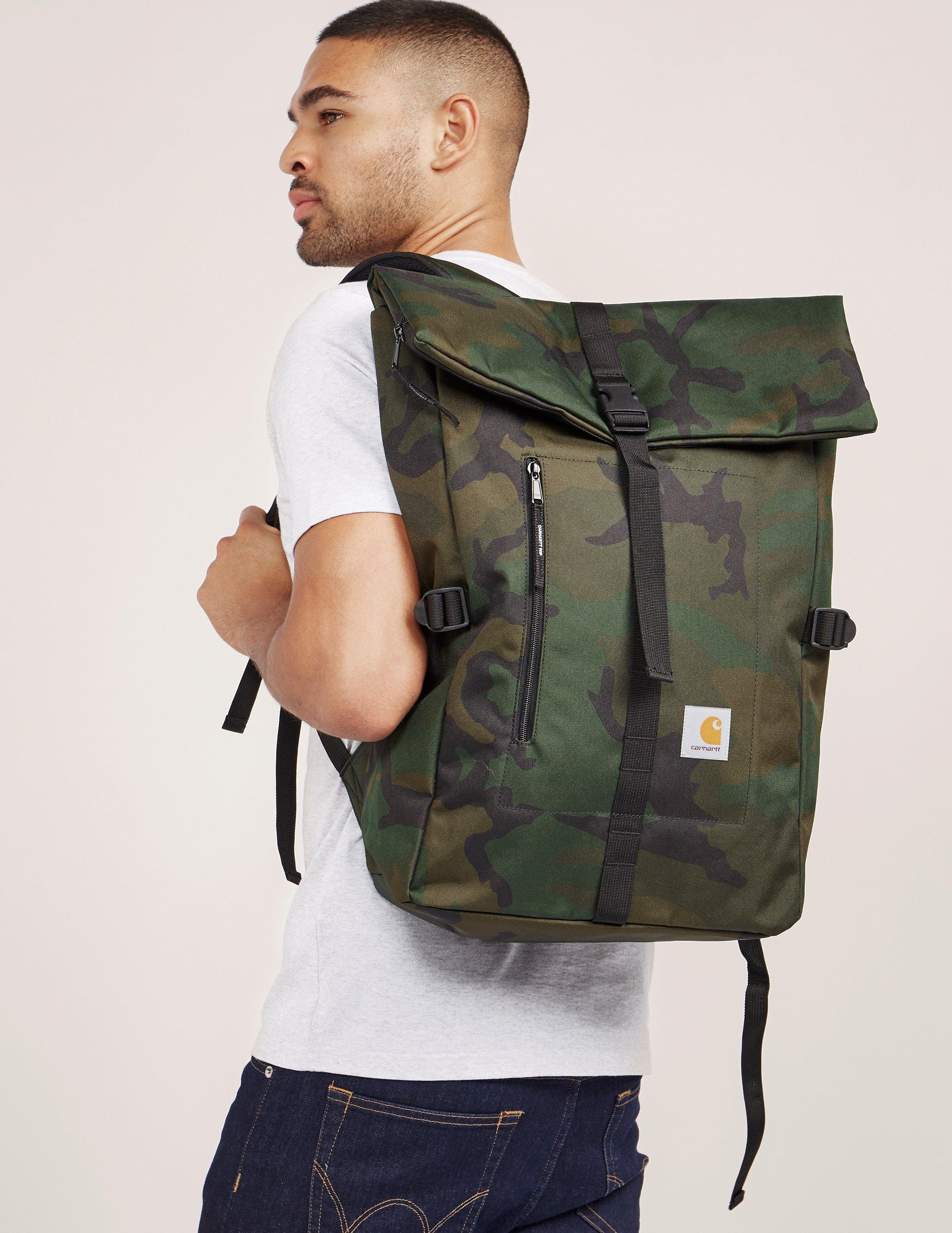 Lyst - Carhartt WIP Phil Backpack in Green for Men