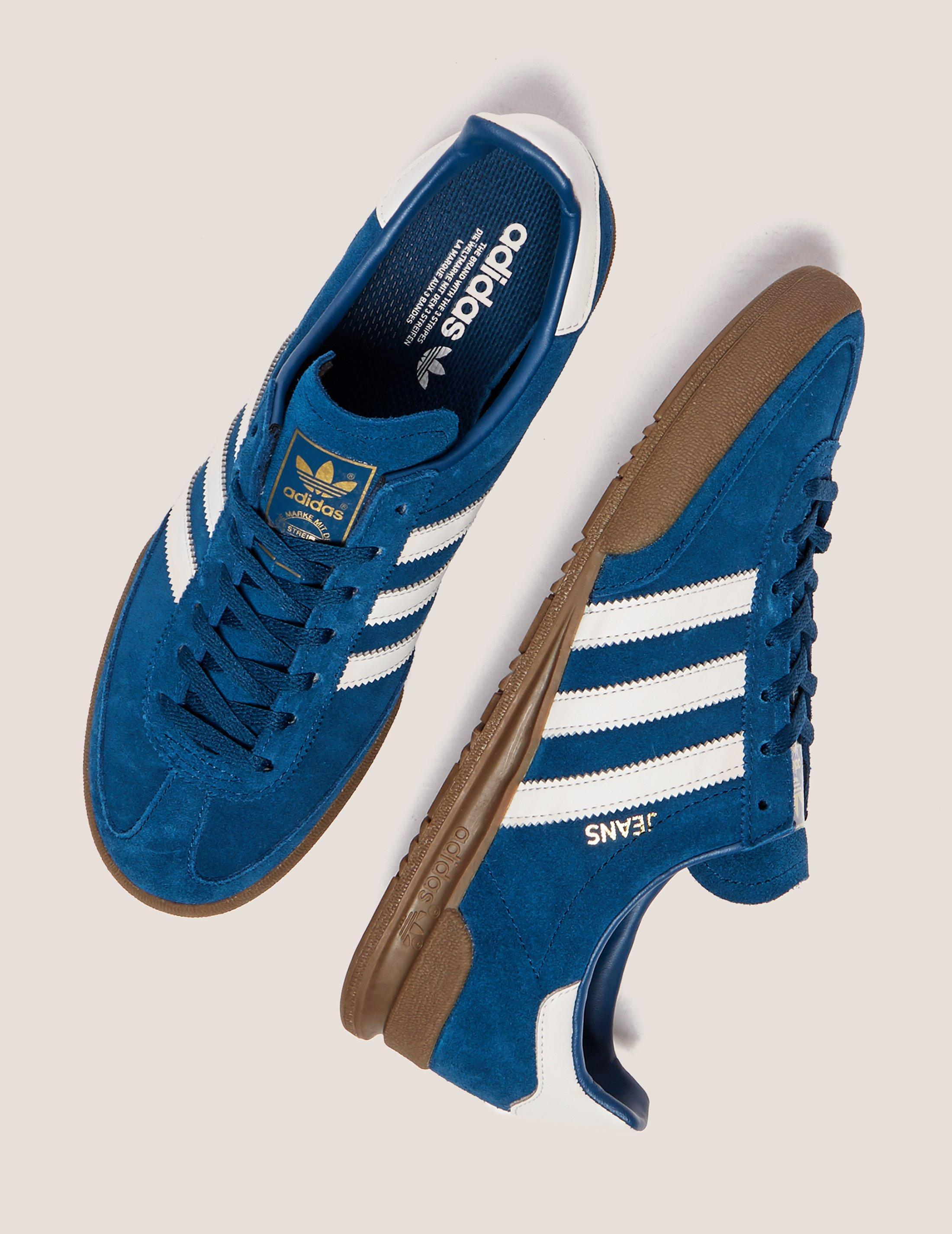 adidas jean blue
