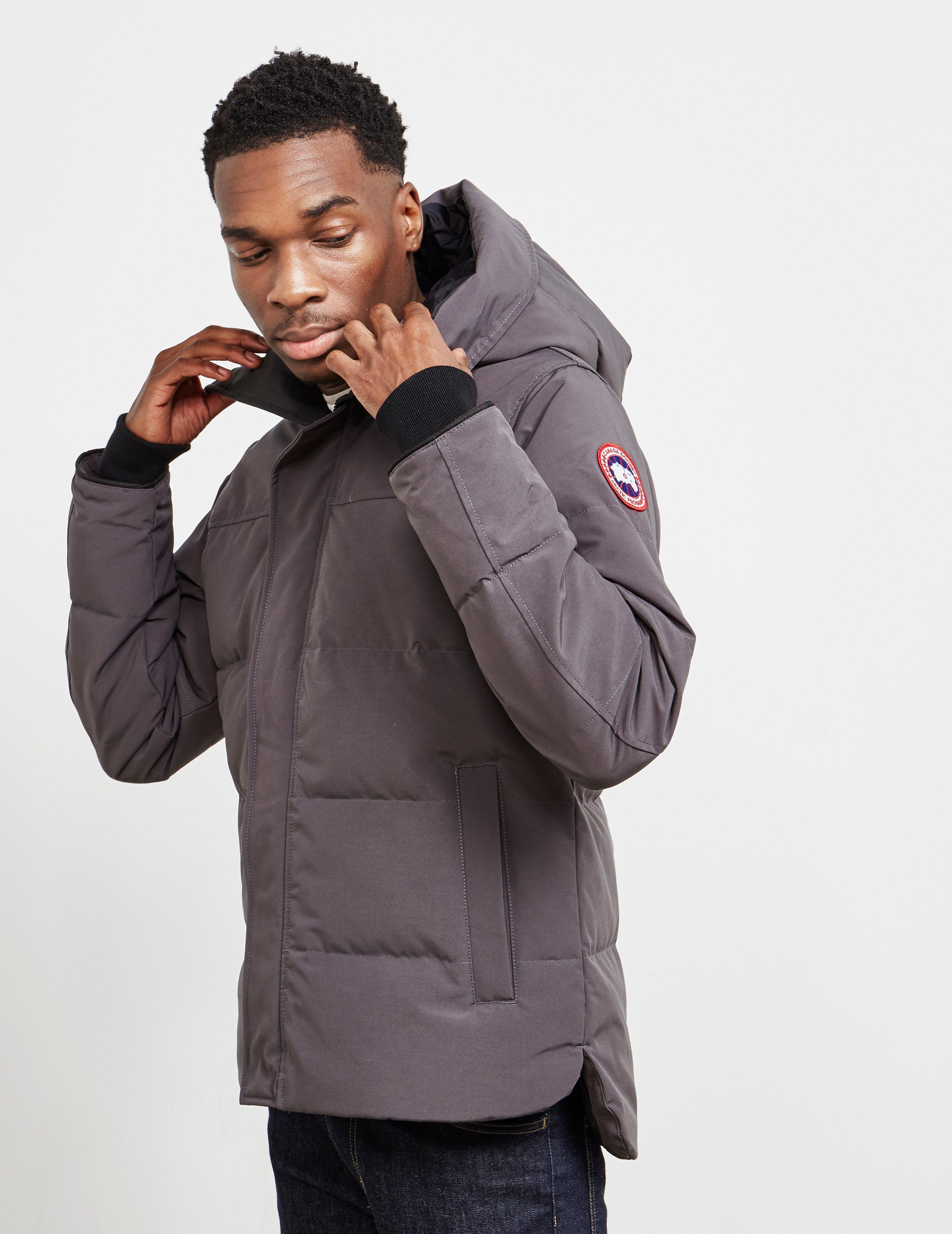 a51b055de8bb Canada Goose Macmillan Padded Parka Jacket Grey in Gray for Men - Lyst
