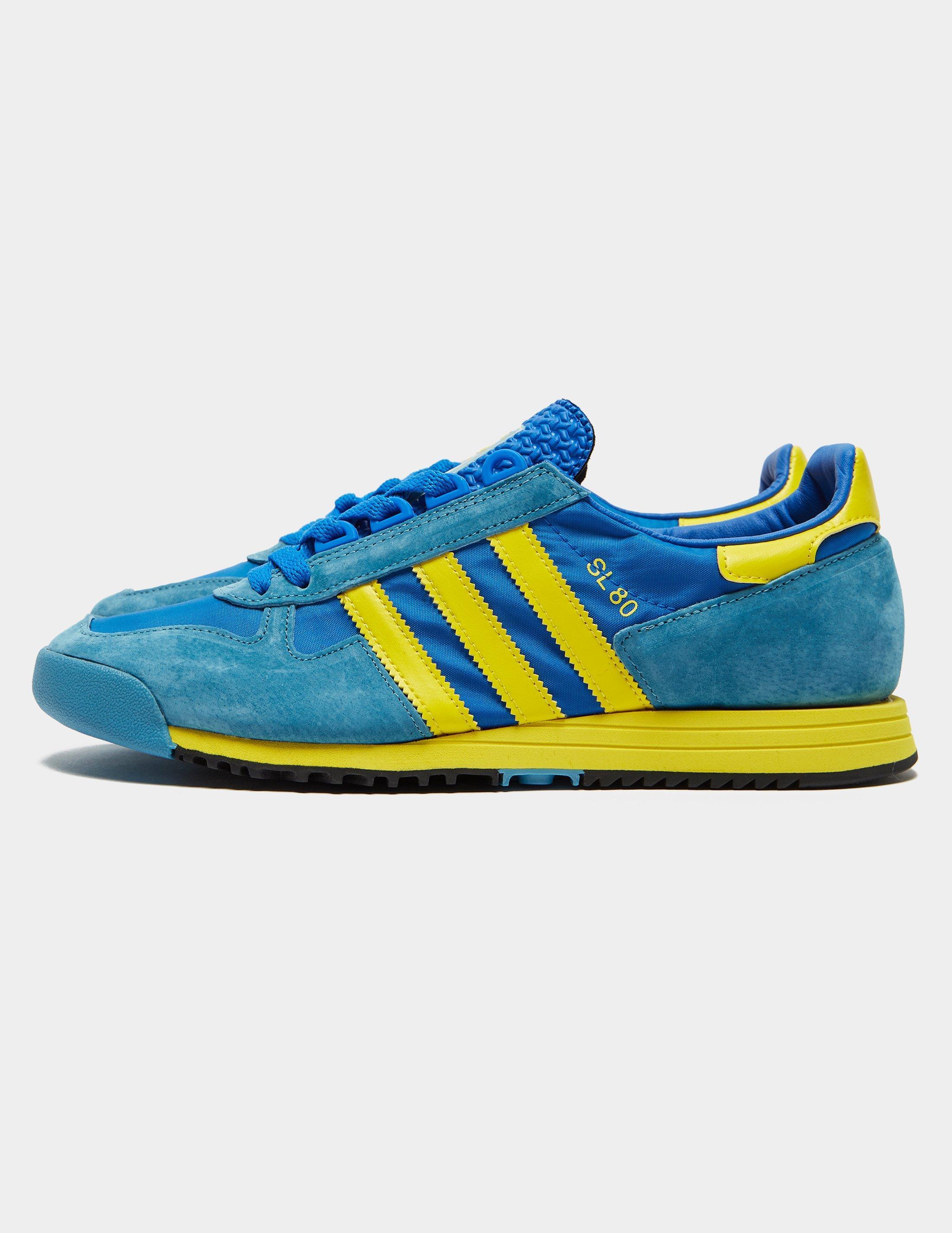 adidas Originals Synthetic Sl 80 Blue for Men - Lyst