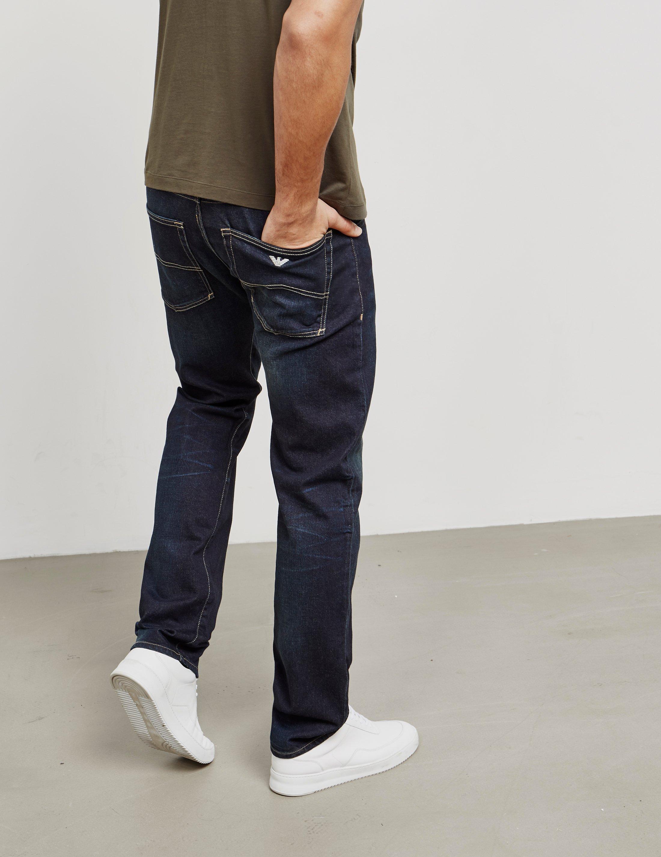 b01bf700 Armani Jeans Mens J45 Slim Fit Jeans Blue for Men - Lyst