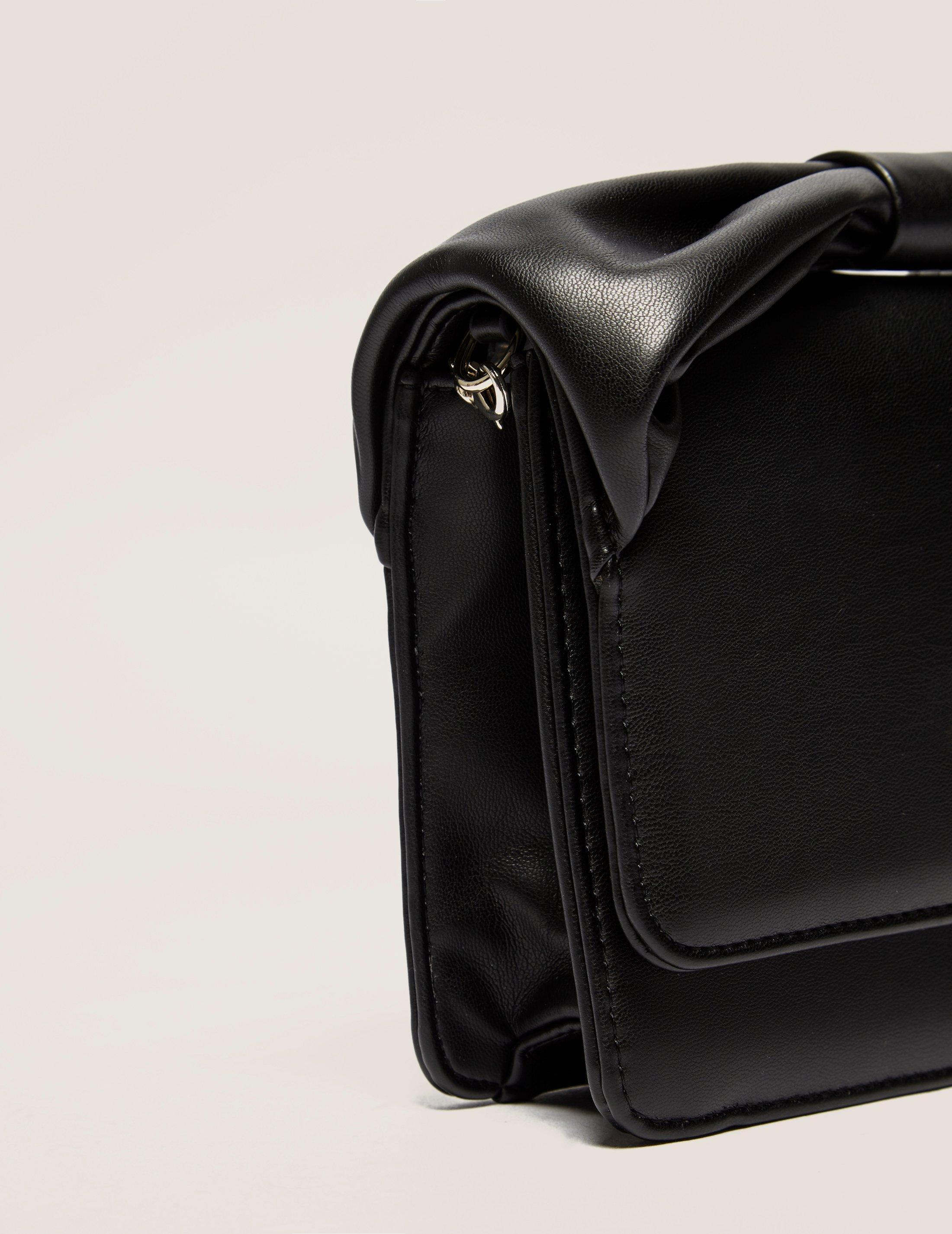 Love Moschino Bow Crossbody Bag in Black