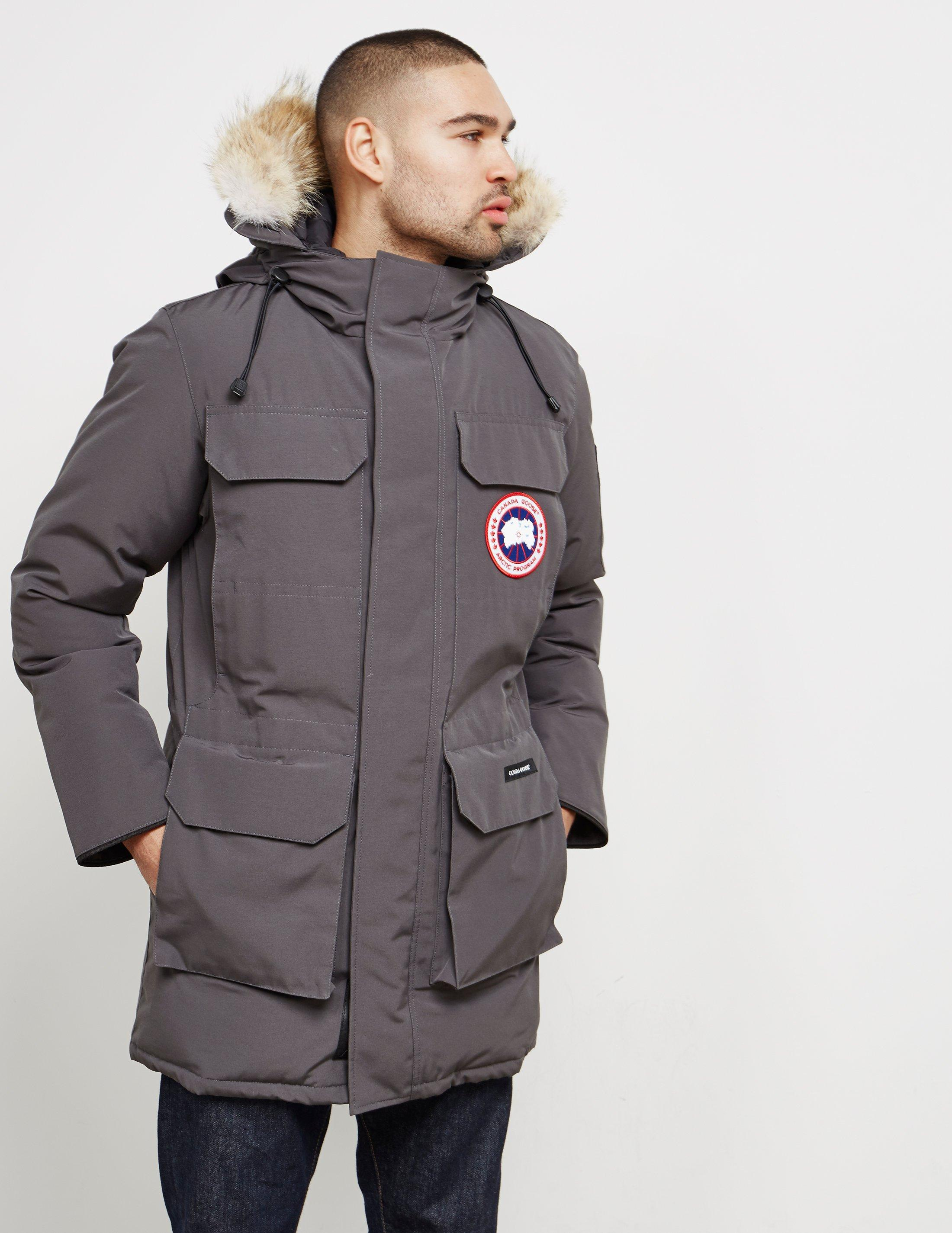 bb19f54681cc Canada Goose Mens Citadel Padded Parka Jacket Grey grey in Gray for ...