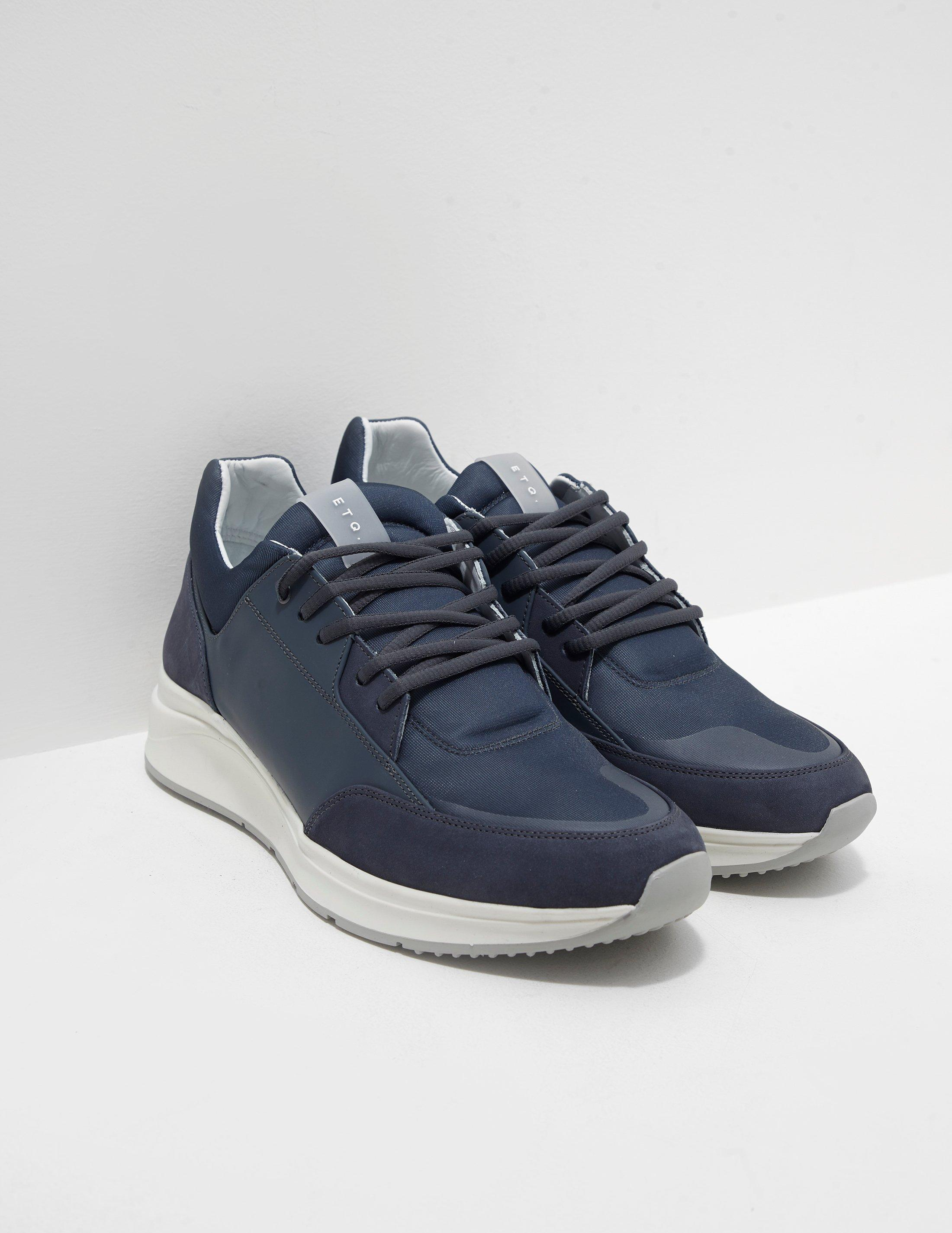 Lyst - ETQ Amsterdam Mens Vortex Trainers Navy Blue in Blue for Men 1941840115f8