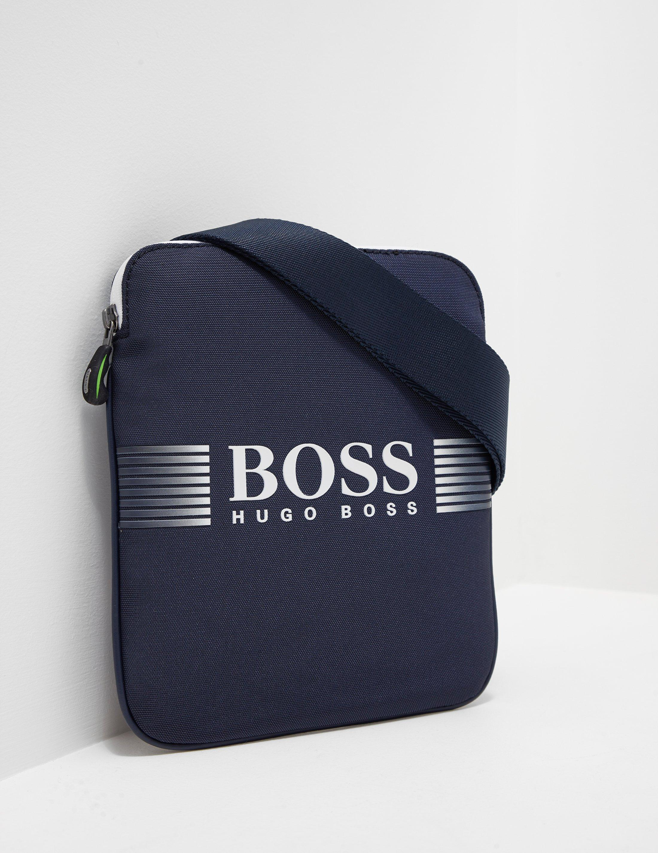 f169088f12 Lyst - BOSS Athleisure Pixel s Zip Shoulder Bag Blue in Blue for Men