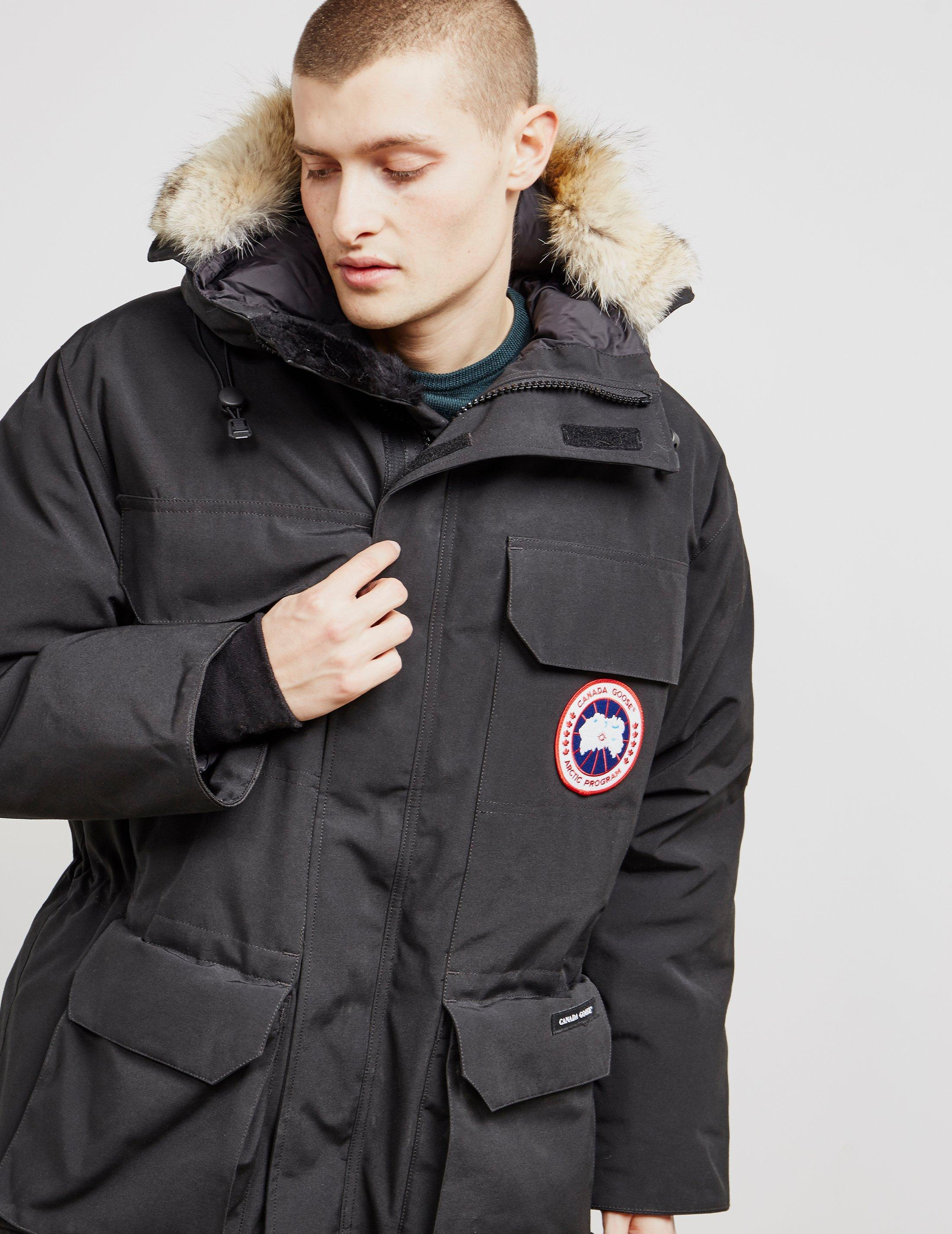 43368334e55 Tap to visit site. Canada Goose - Expedition Padded Parka Jacket Black for  Men - Lyst