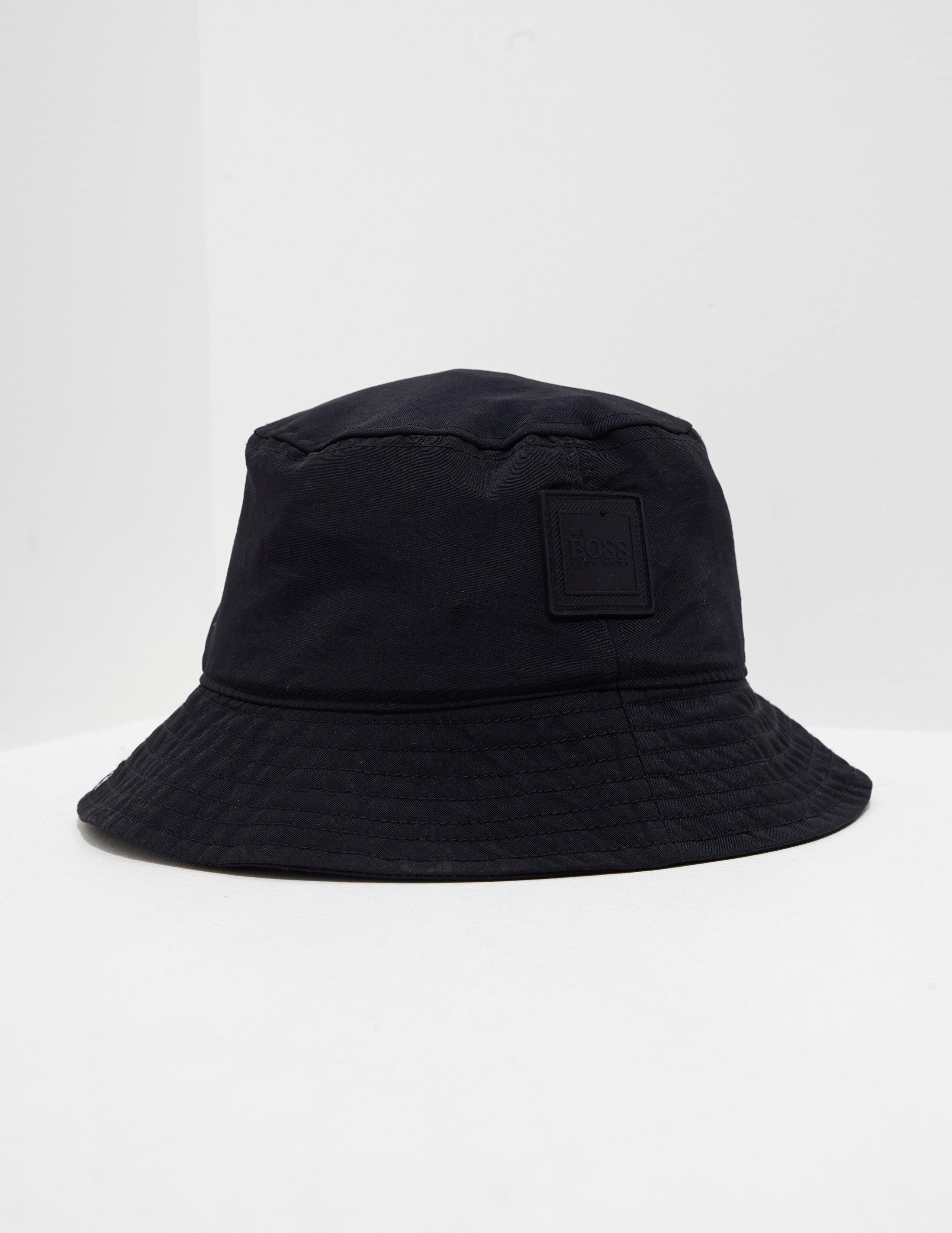 BOSS Mens Bucket Hat Black in Black for Men - Lyst 06380719a