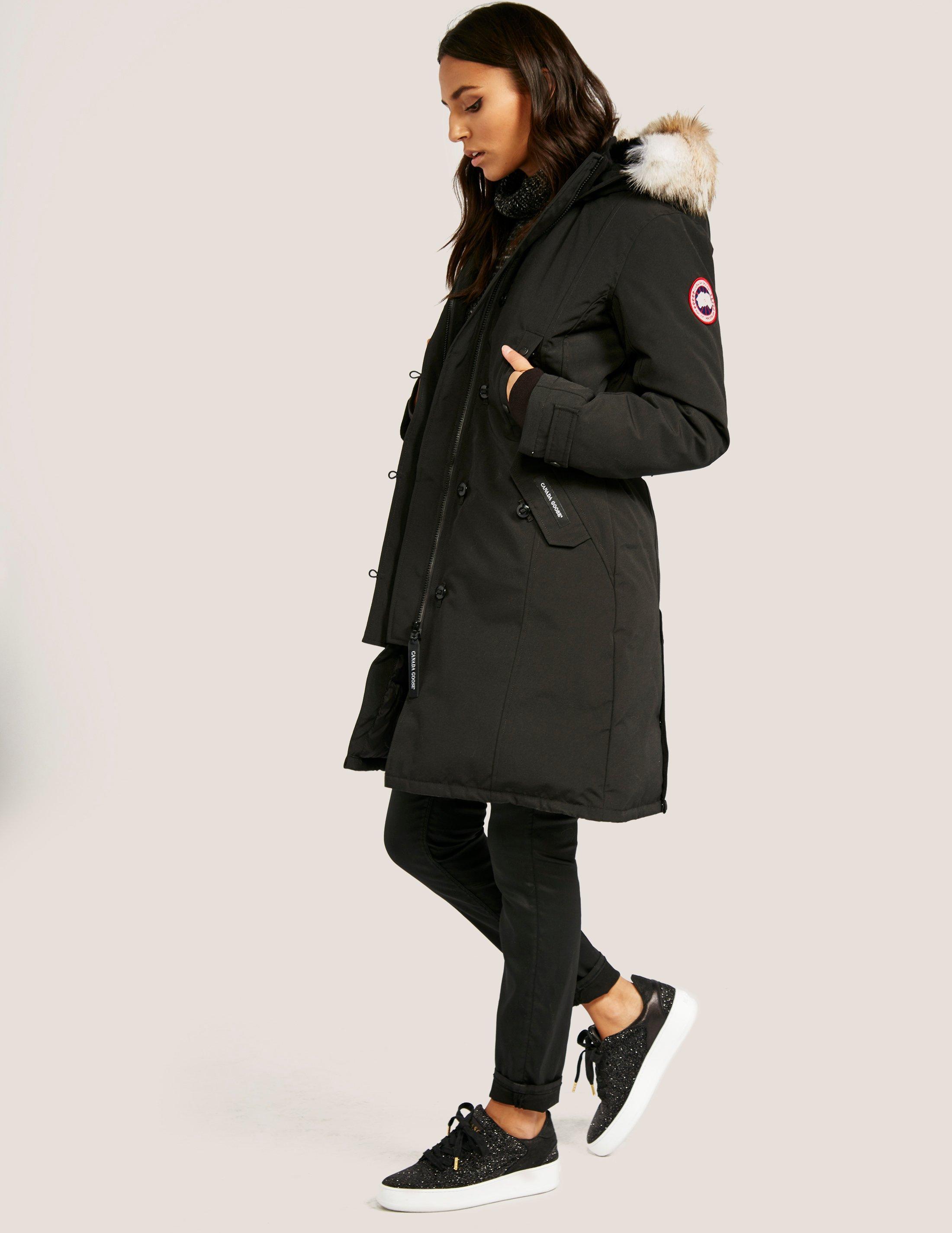 black kensington canada goose jacket