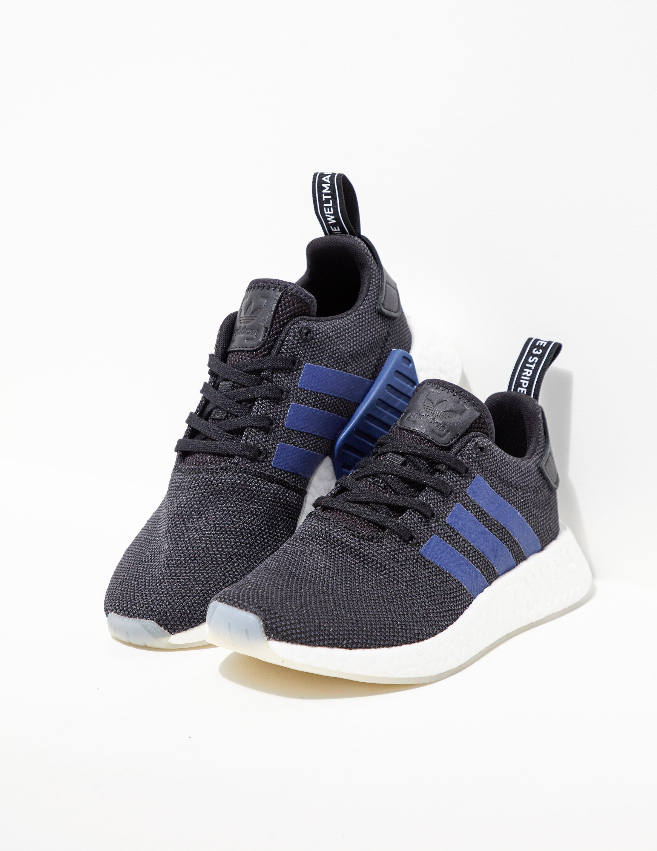 cb1f525e6 adidas Originals Womens Nmd R2 Women s Black blue
