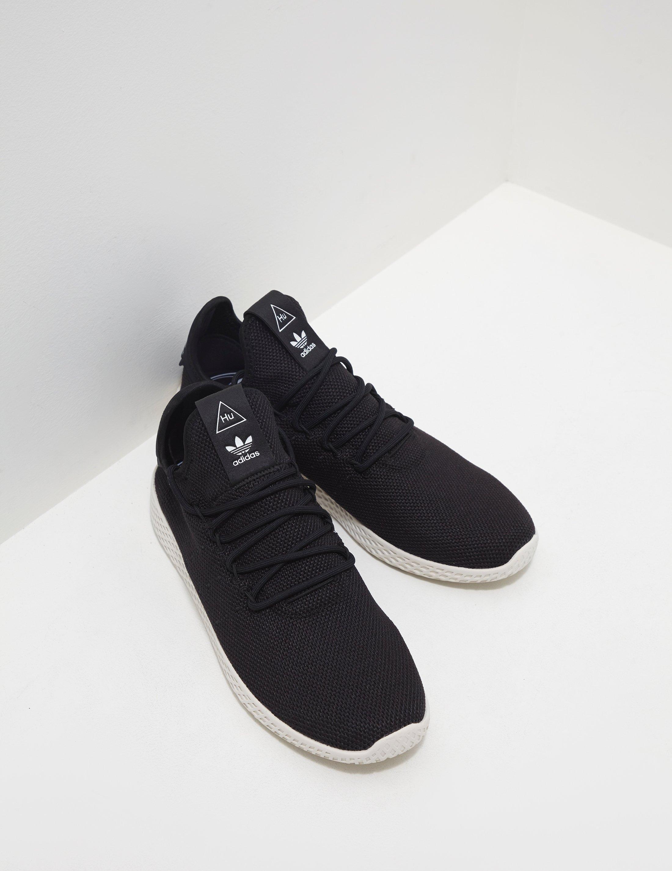 adidas pharrell williams tennis hu black